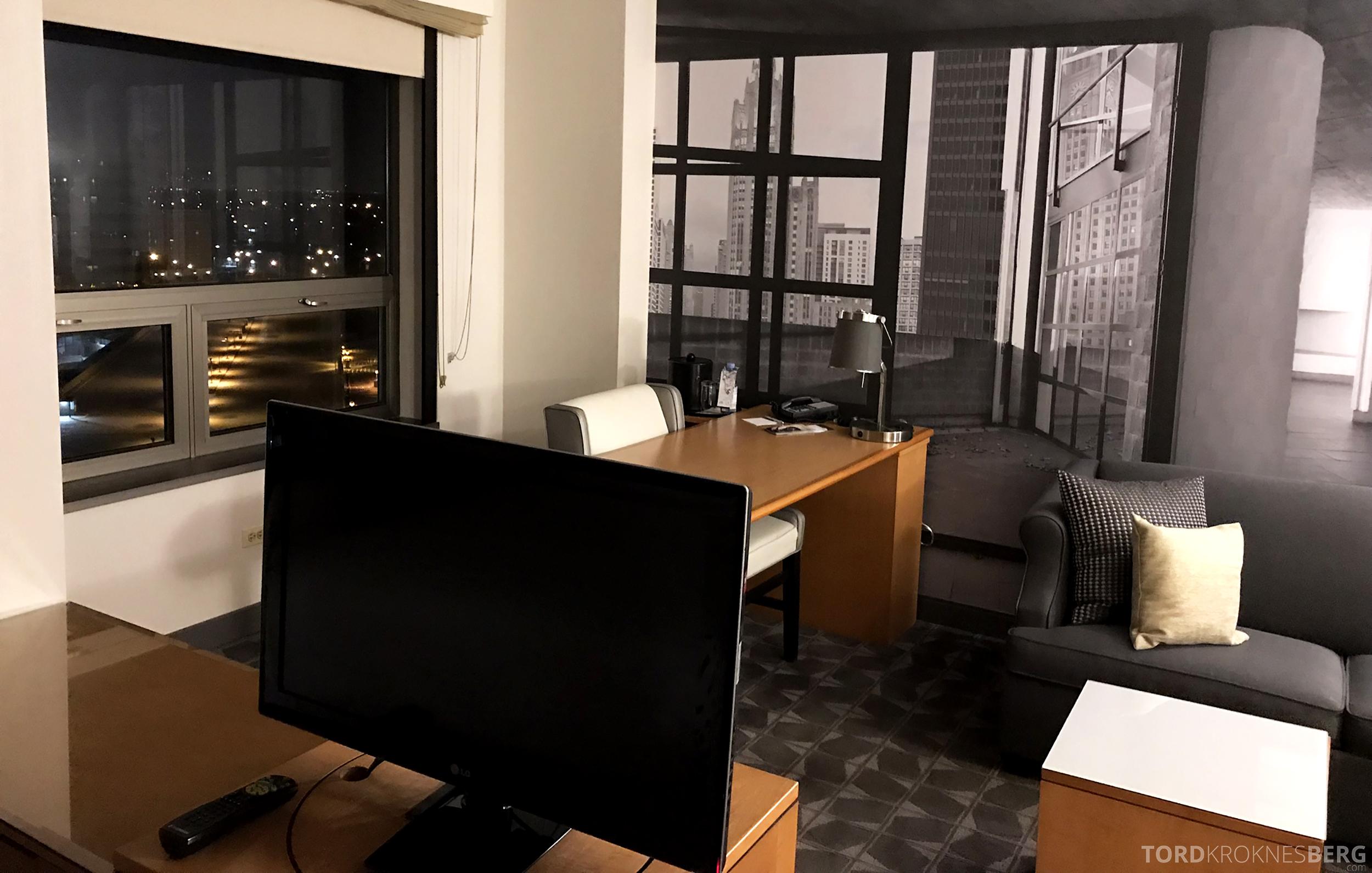 Renaissance Chicago O'Hare Hotel værelse