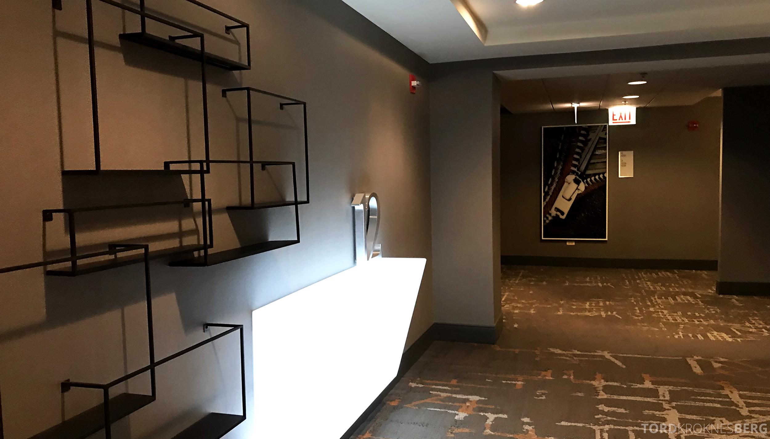 Renaissance Chicago O'Hare Hotel korridor