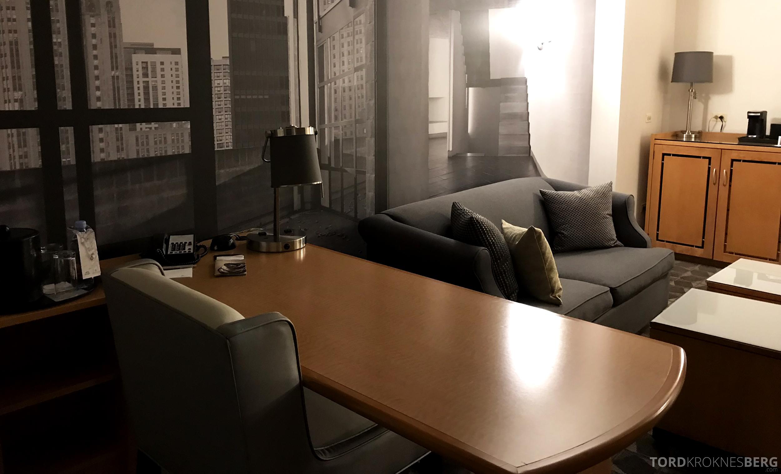 Renaissance Chicago O'Hare Hotel kontor