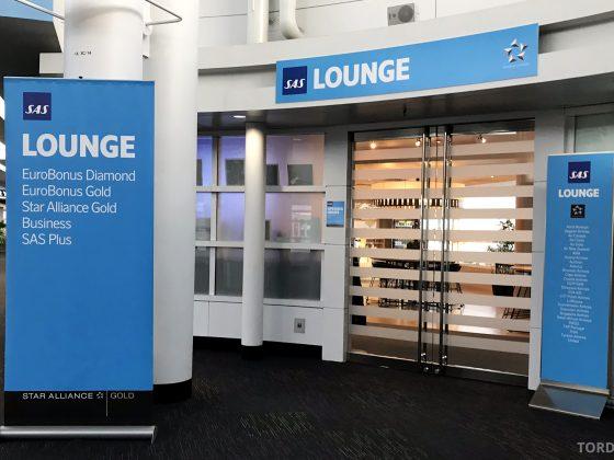 SAS Lounge Chicago inngang