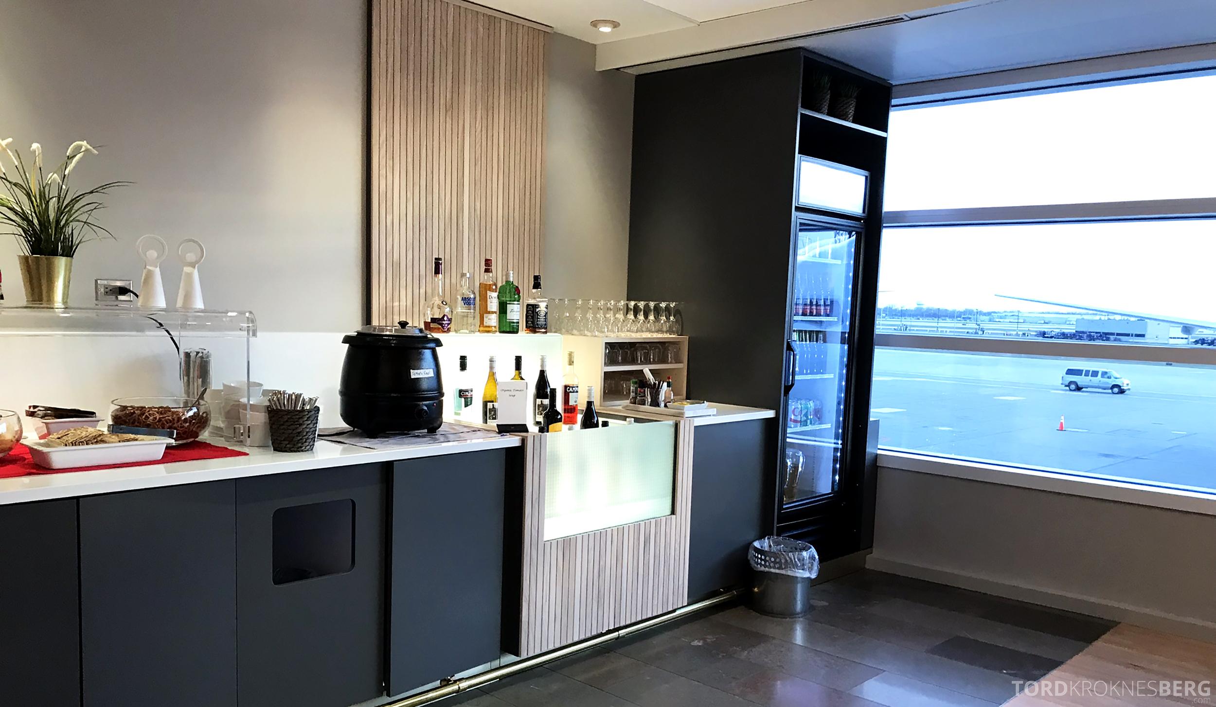 SAS Lounge Chicago drikke