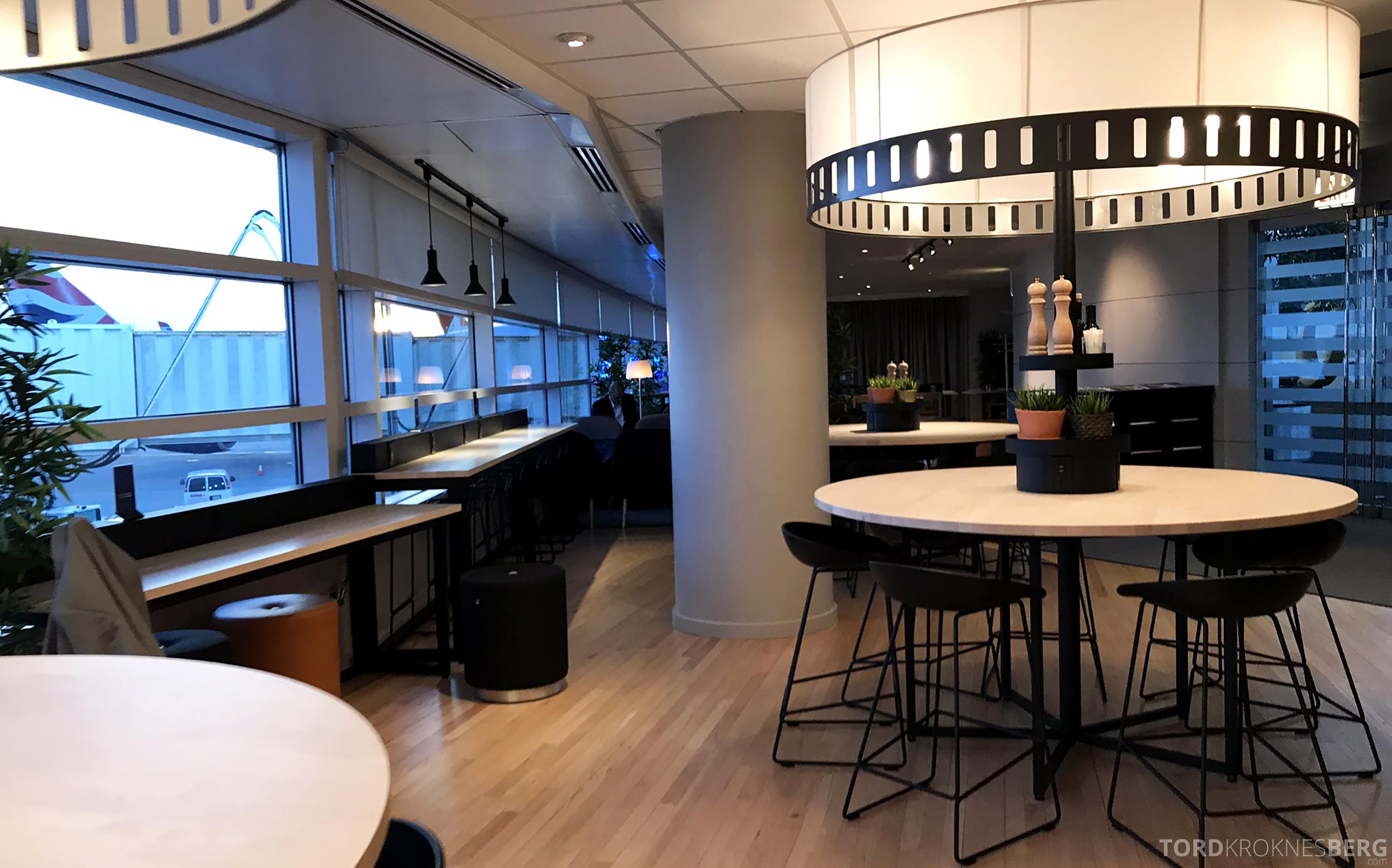 SAS Lounge Chicago oversikt