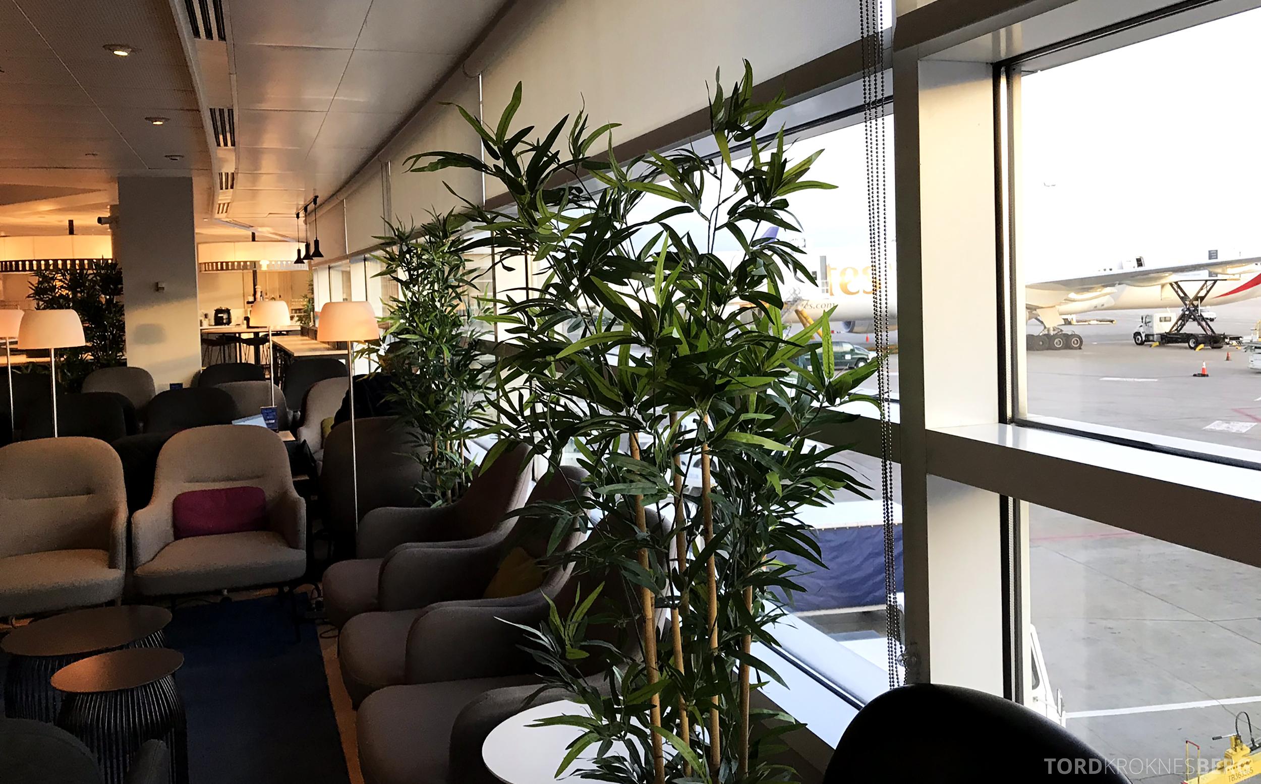 SAS Lounge Chicago sitteplasser