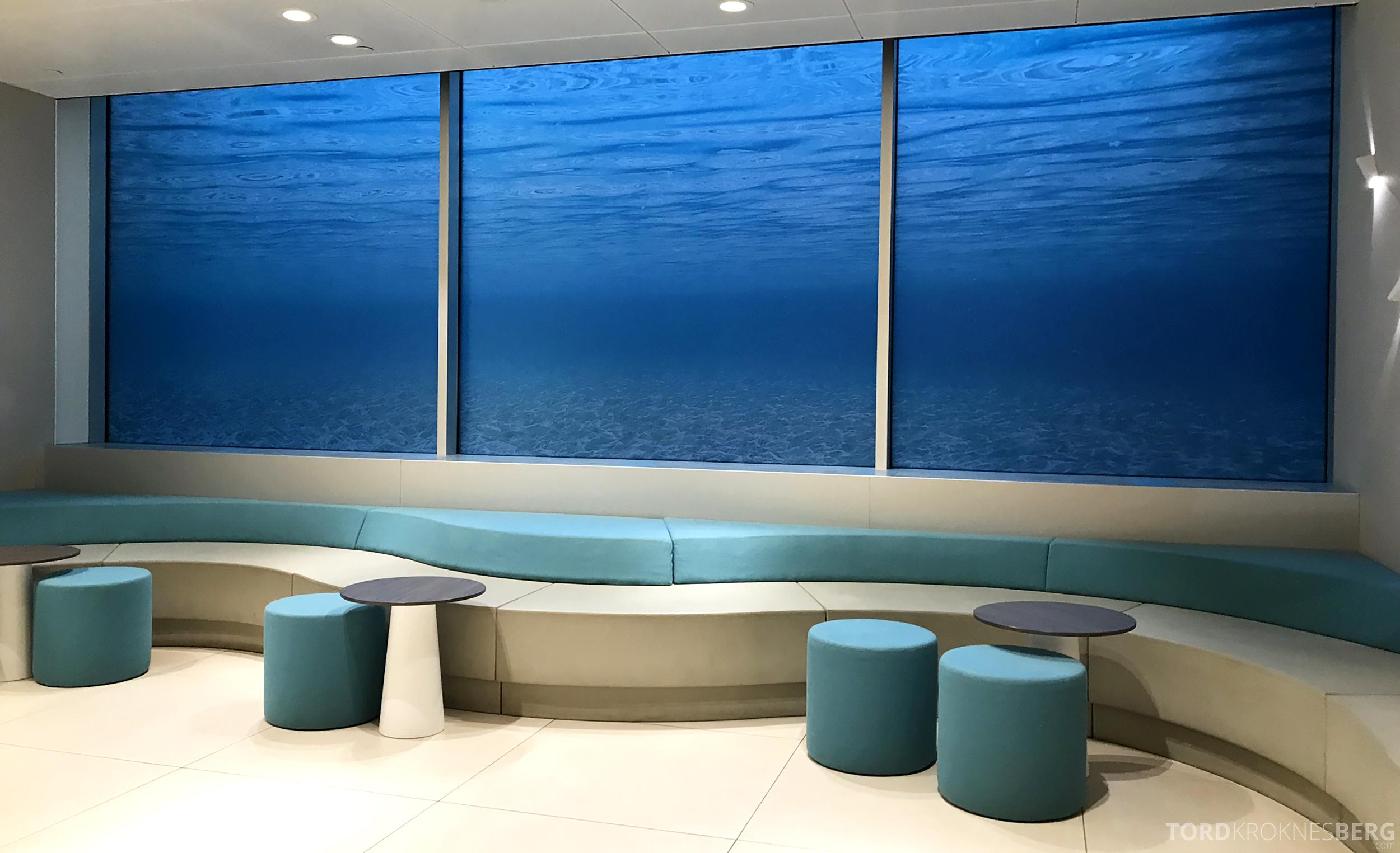 Aspire Lounge Schiphol venteværelse