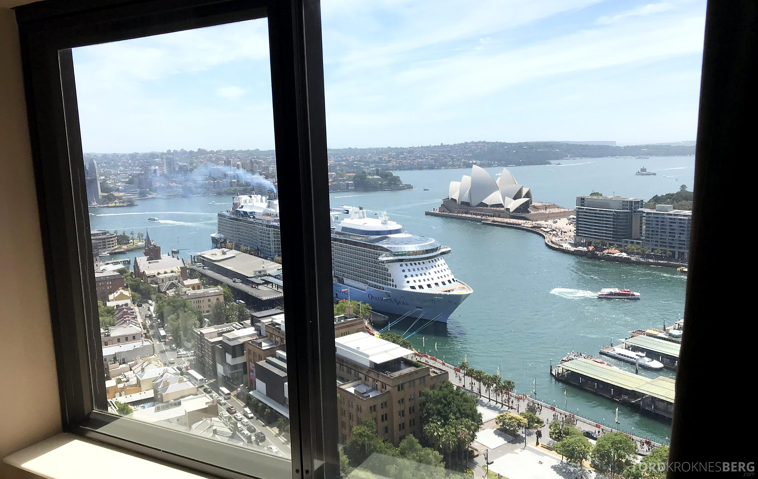 Four Seasons Hotel Sydney utsikt