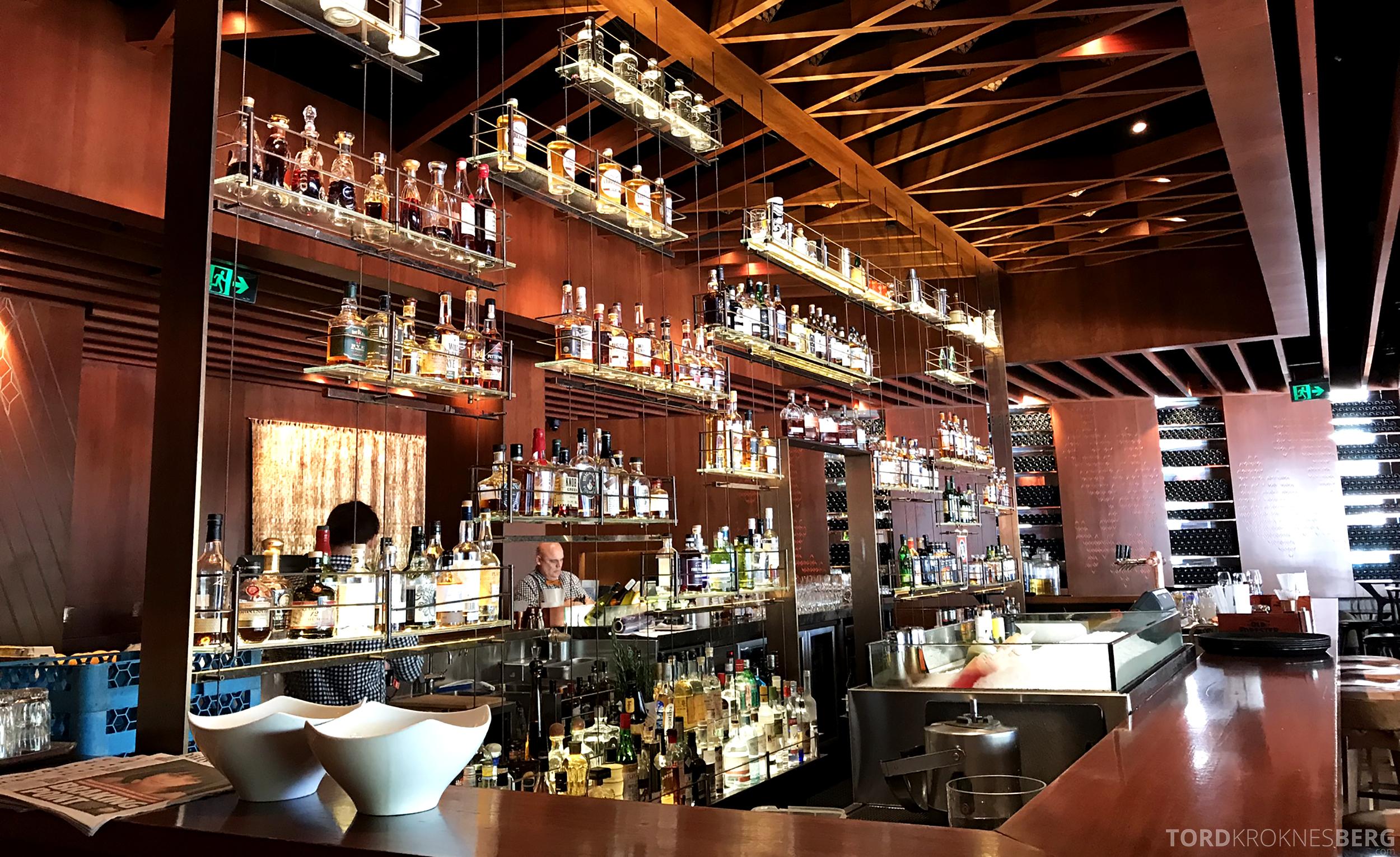 Four Seasons Hotel Sydney bar