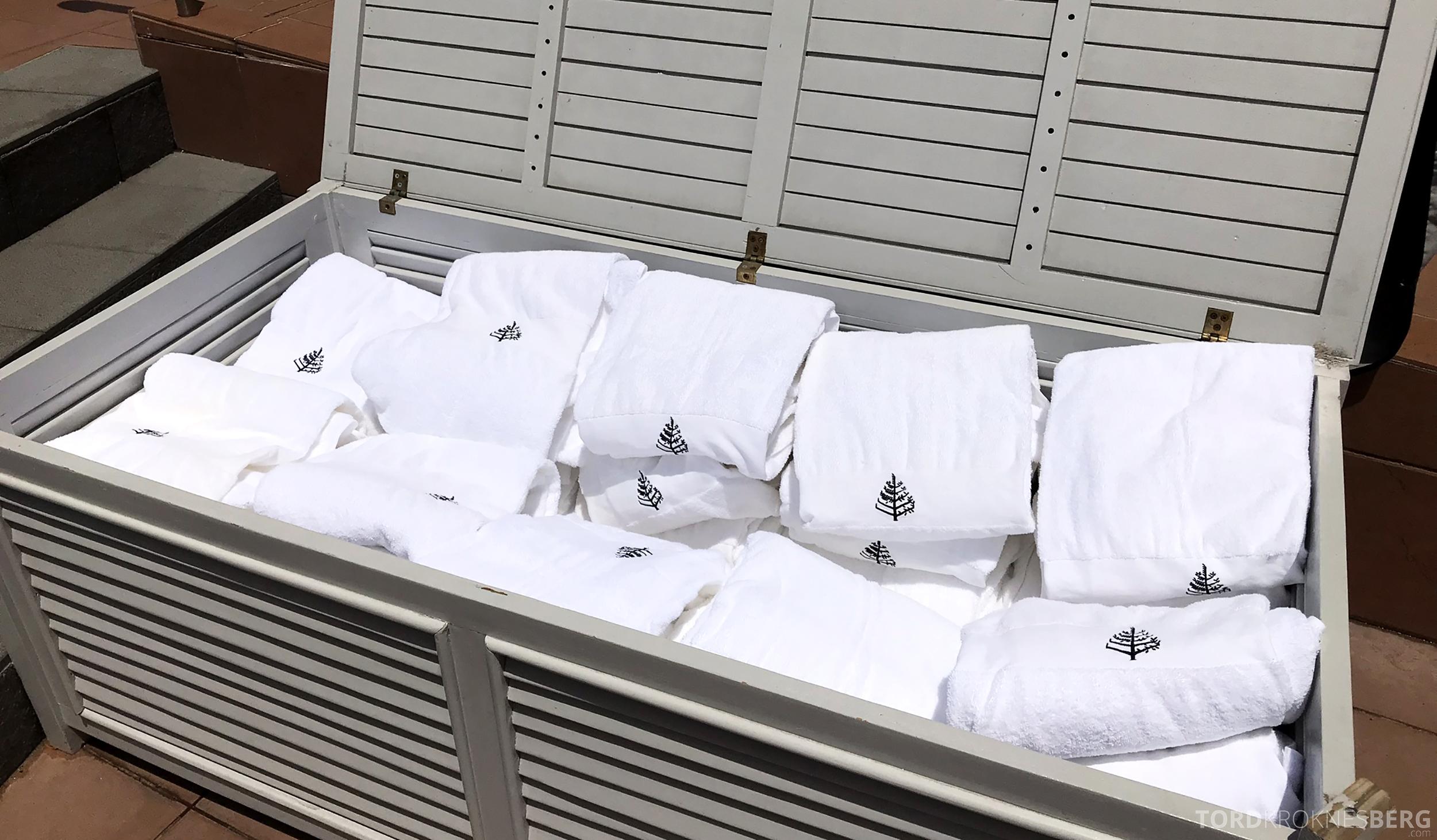 Four Seasons Hotel Sydney håndklær