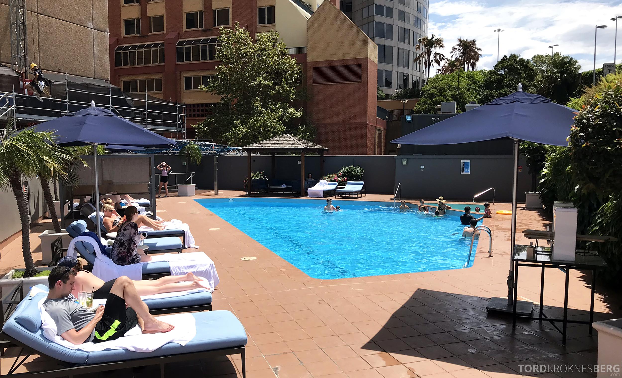 Four Seasons Hotel Sydney basseng
