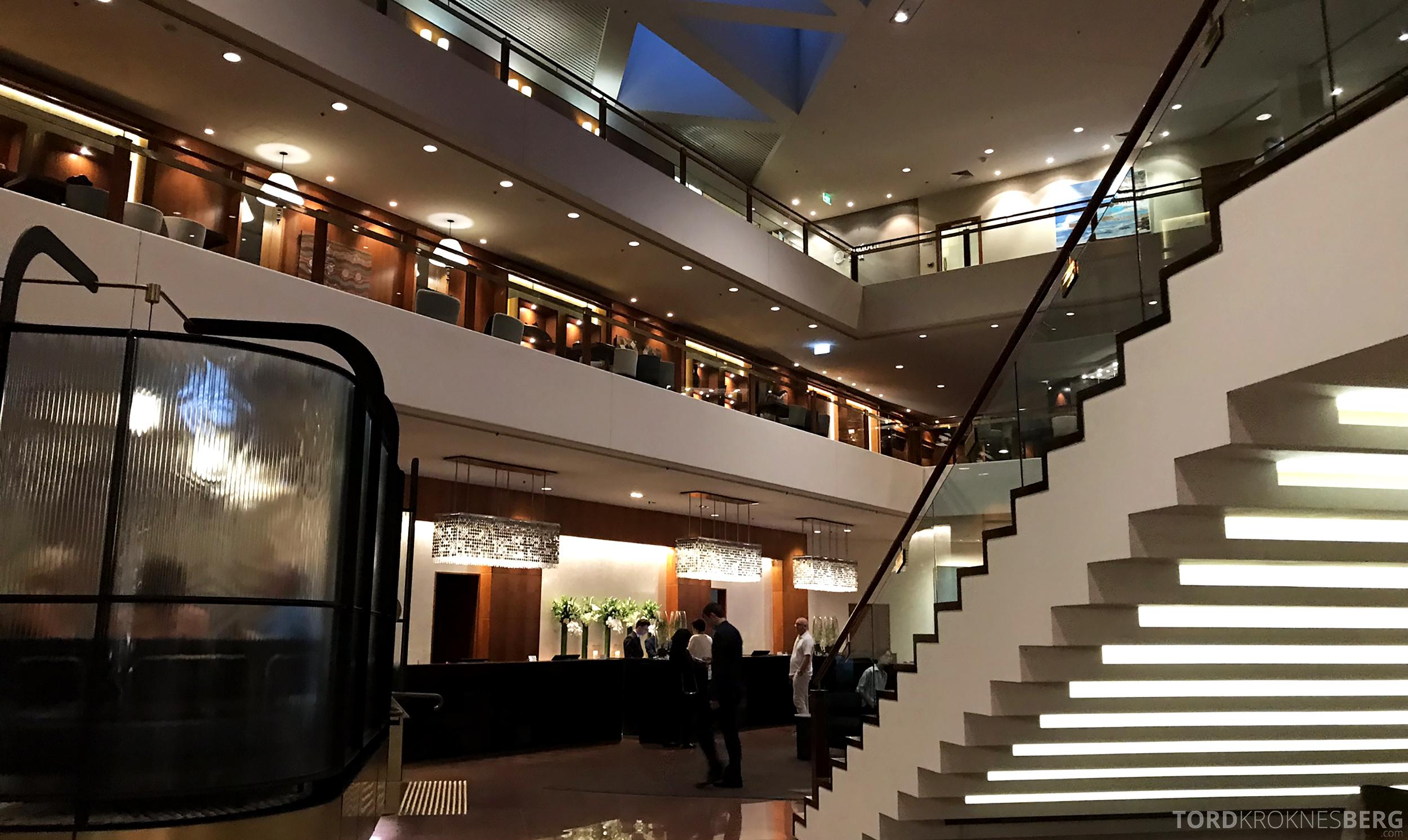Four Seasons Hotel Sydney lobbyen