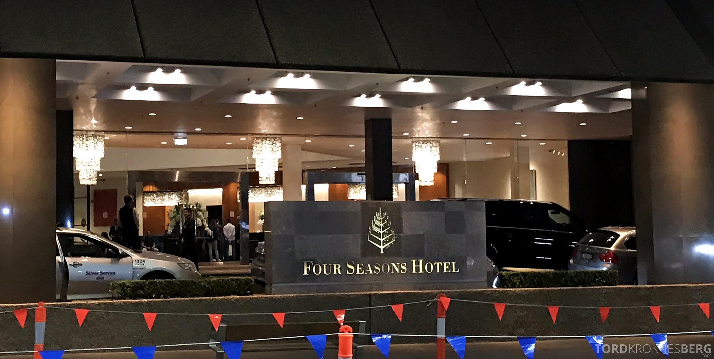 Four Seasons Hotel Sydney utenfor