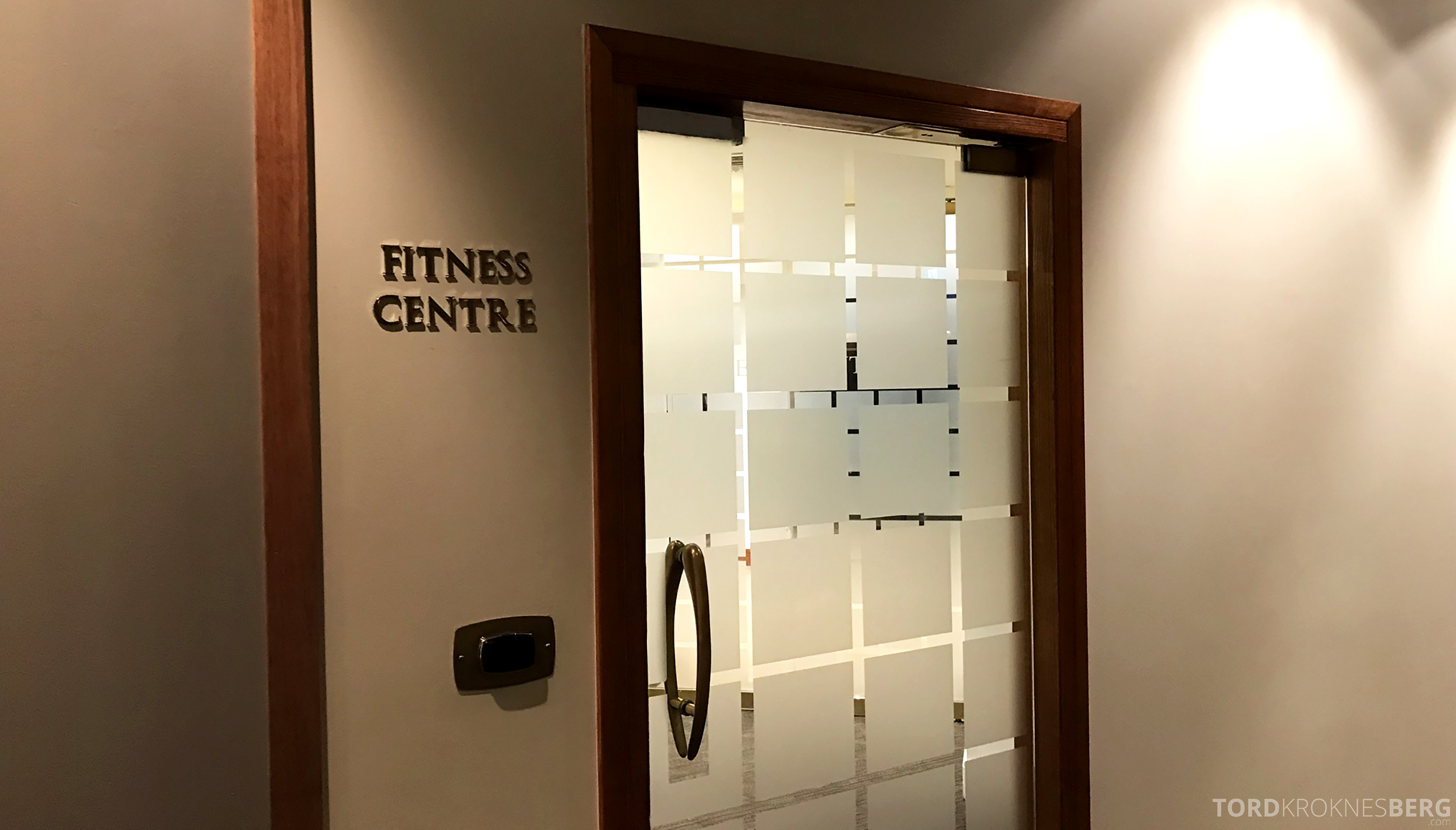 Four Seasons Hotel Sydney inngang fitness center