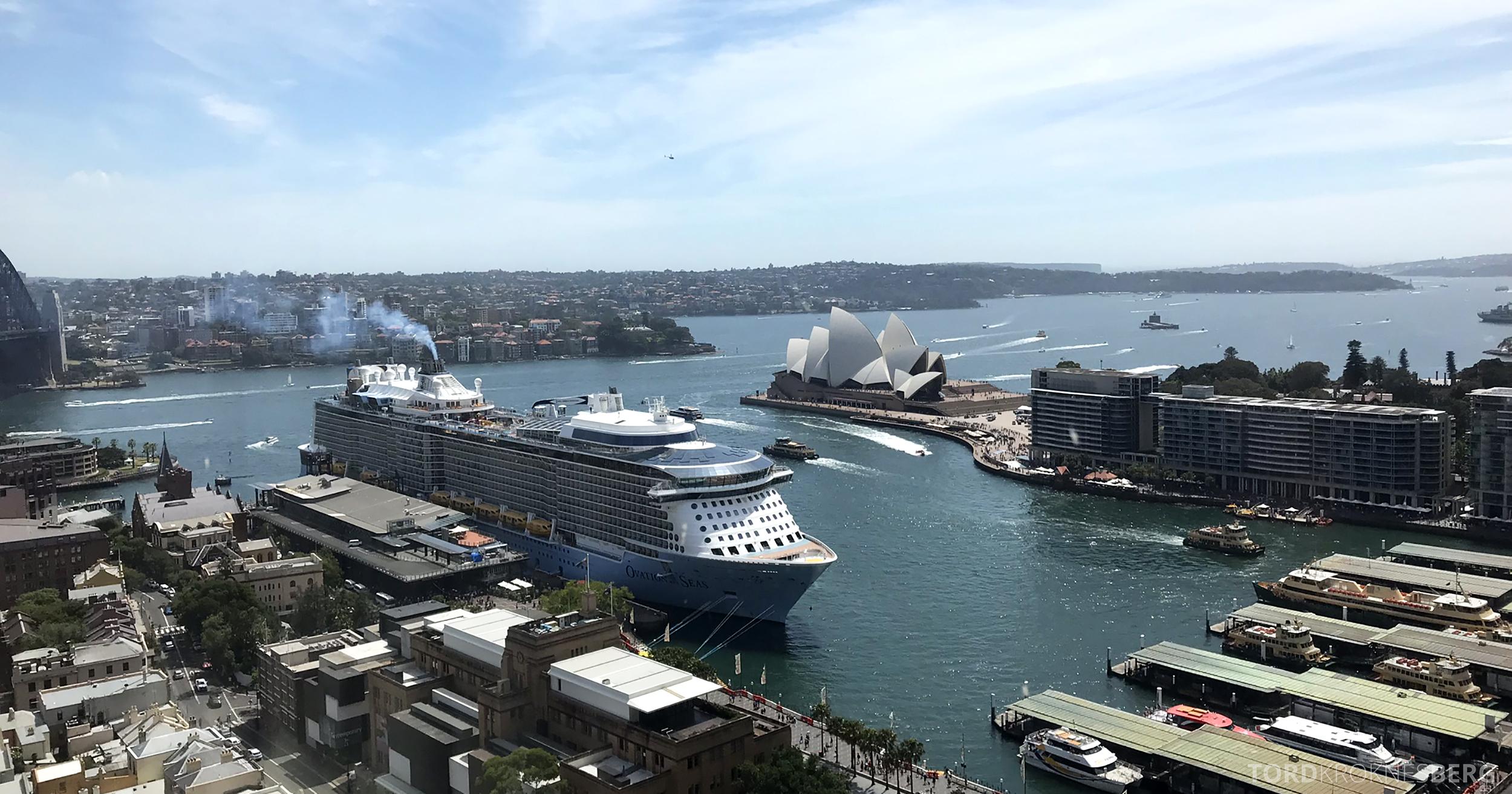 Four Seasons Hotel Sydney utsikt operahuset