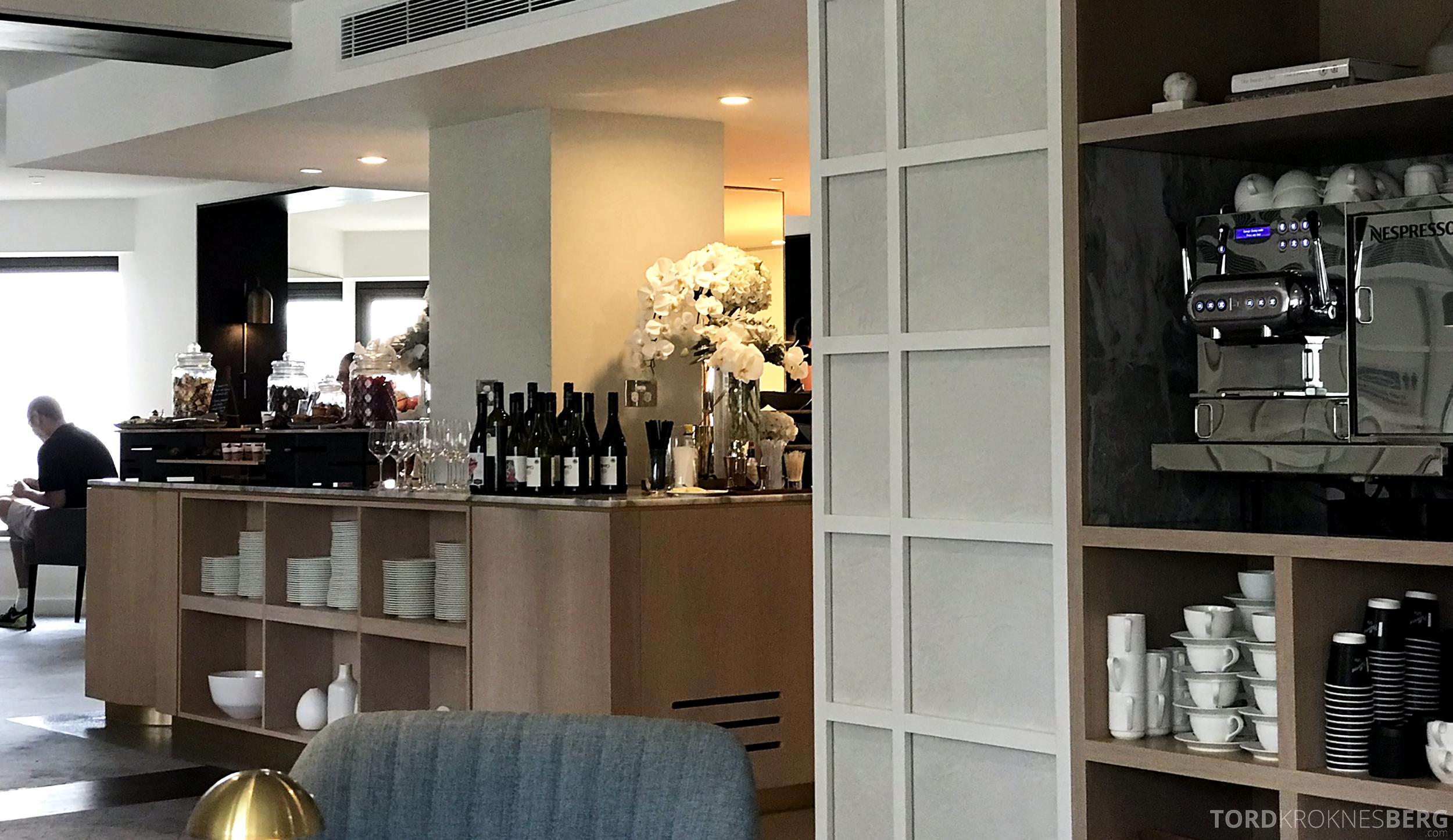 Four Seasons Hotel Sydney Lounge 32 hors d'oeuvre utsikt