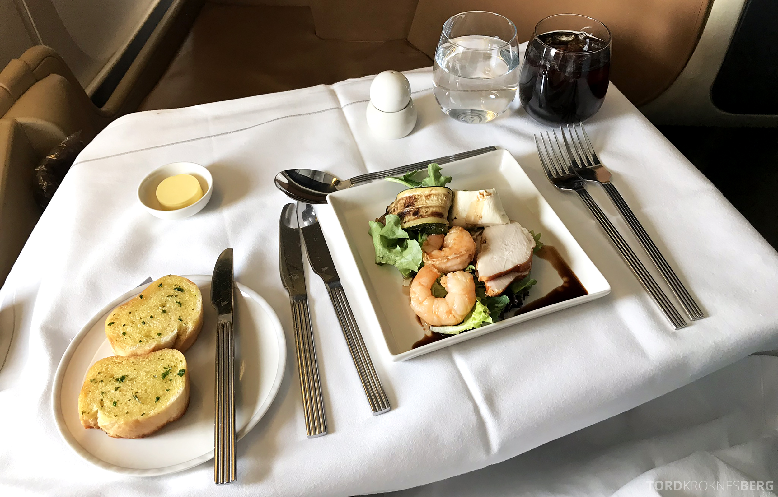 Singapore Airlines Business Class Brisbane Singapore forrett reker
