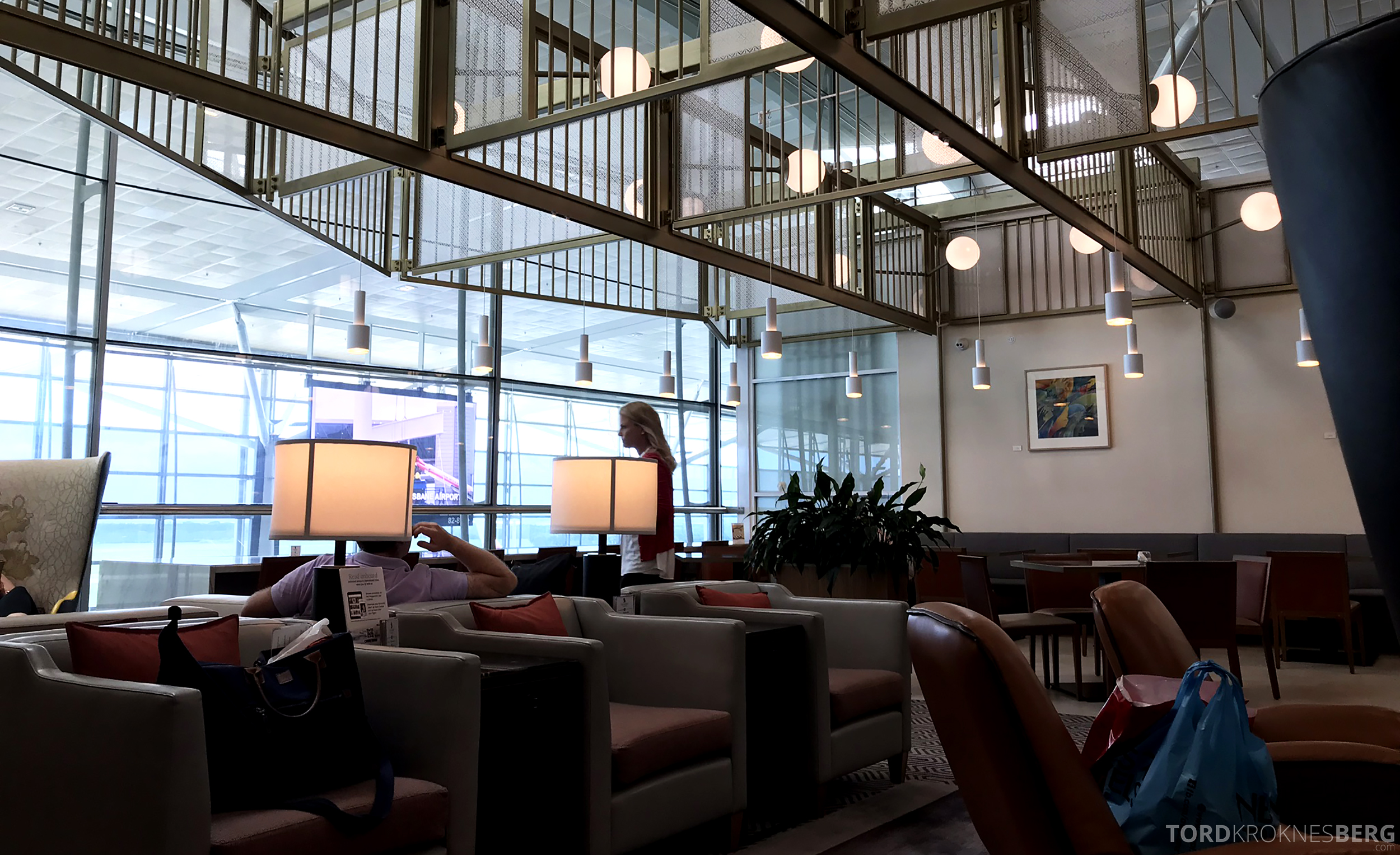 Singapore Airlines SilverKris Lounge Brisbane lokale