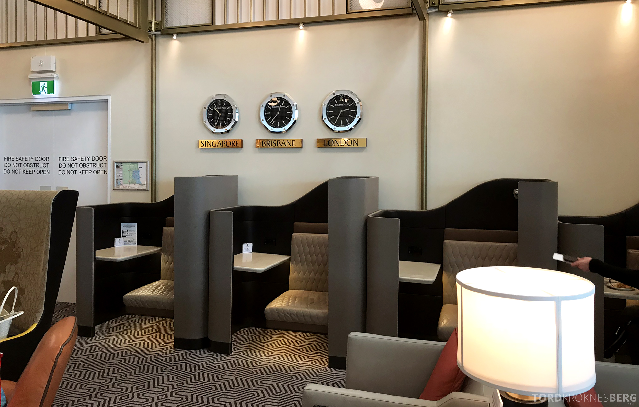 Singapore Airlines SilverKris Lounge Brisbane suiter