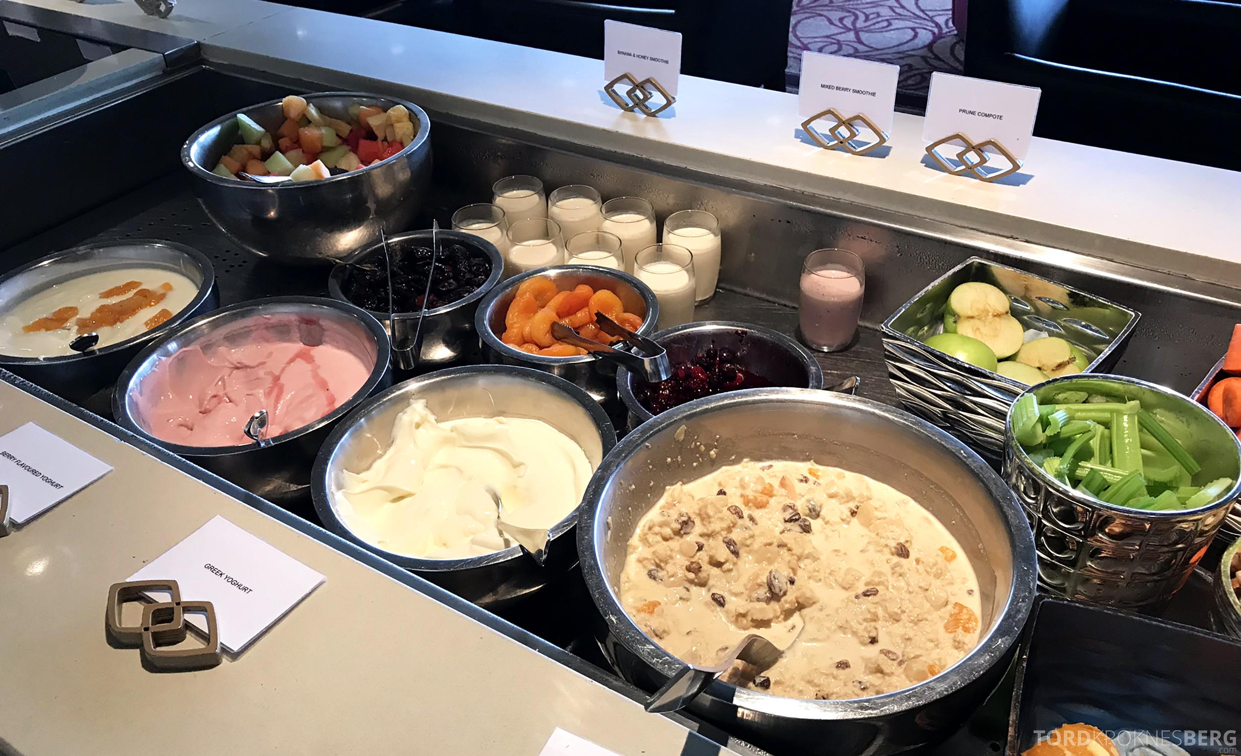 Sofitel Hotel Brisbane Club Lounge frokostbuffet
