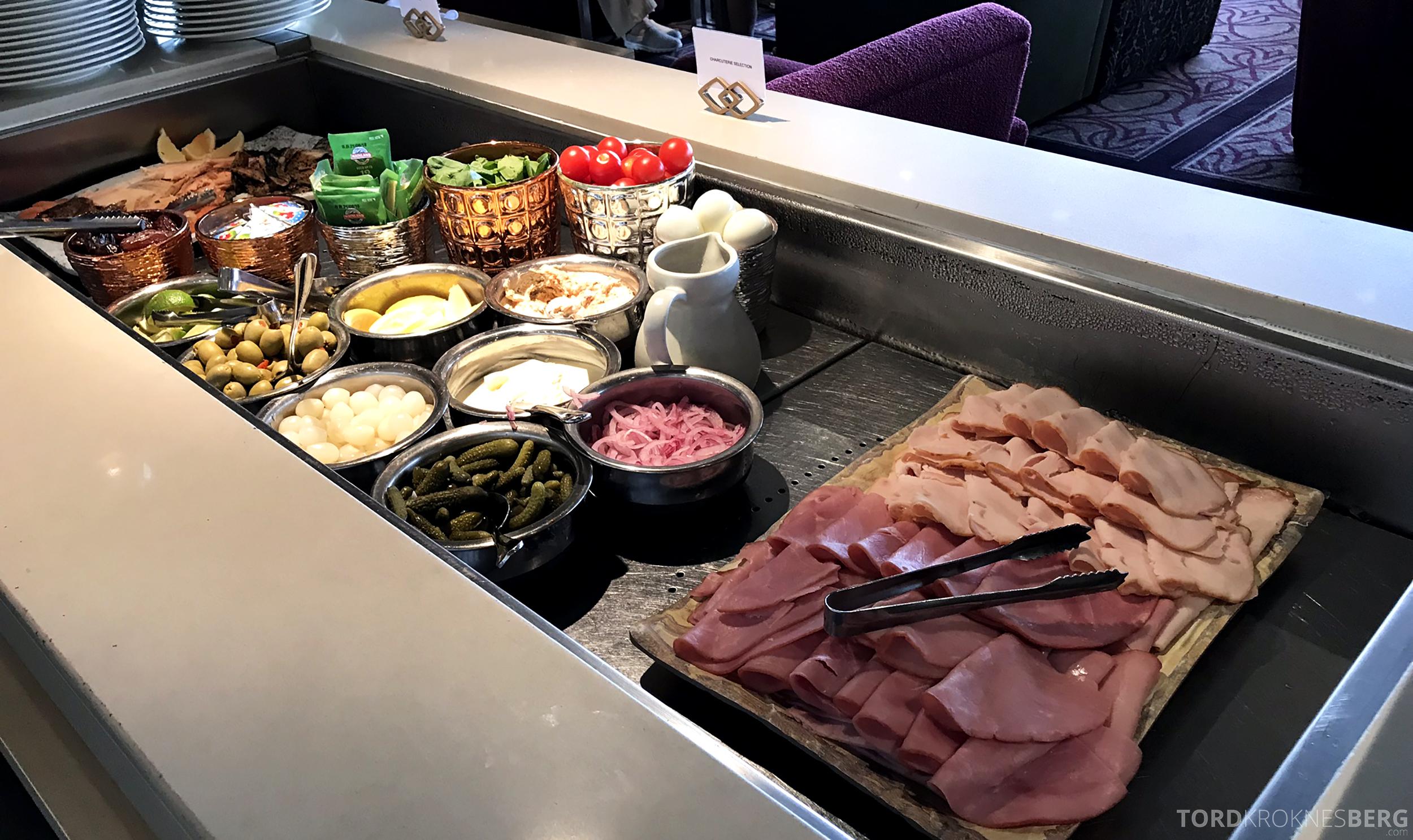 Sofitel Hotel Brisbane Club Lounge pålegg frokost
