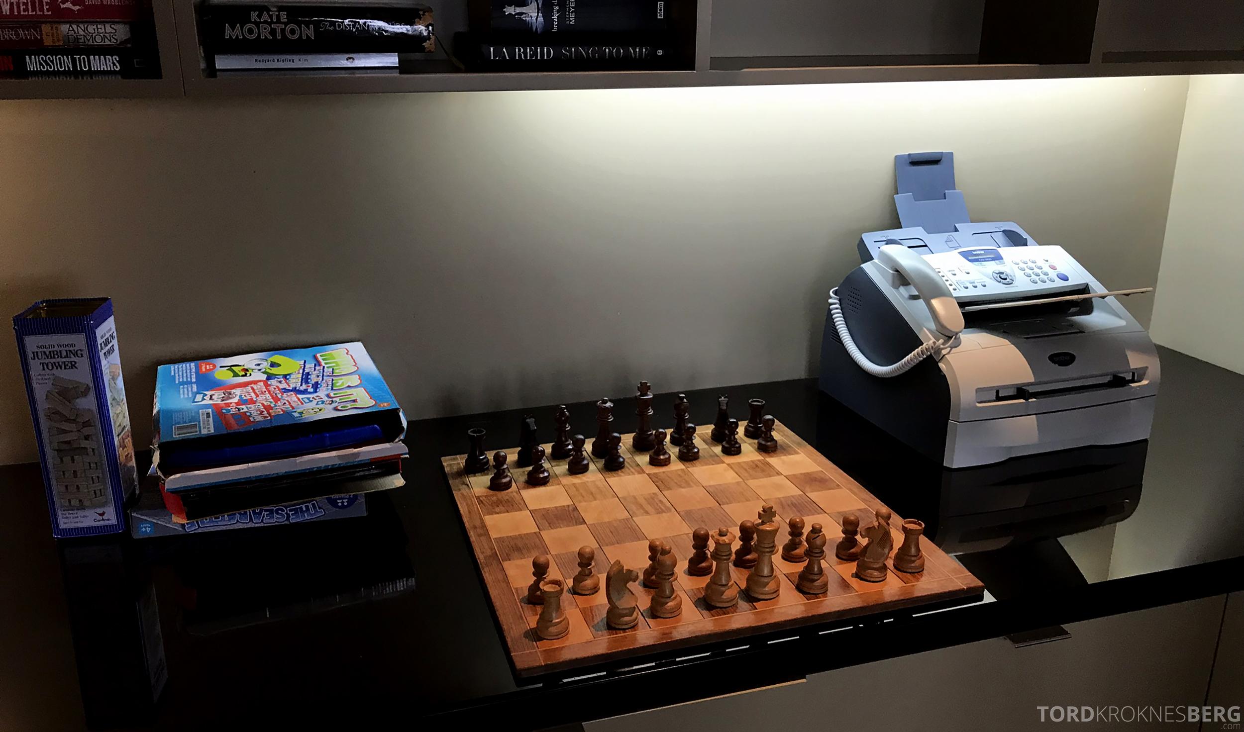 Sofitel Hotel Brisbane Club Lounge sjakk