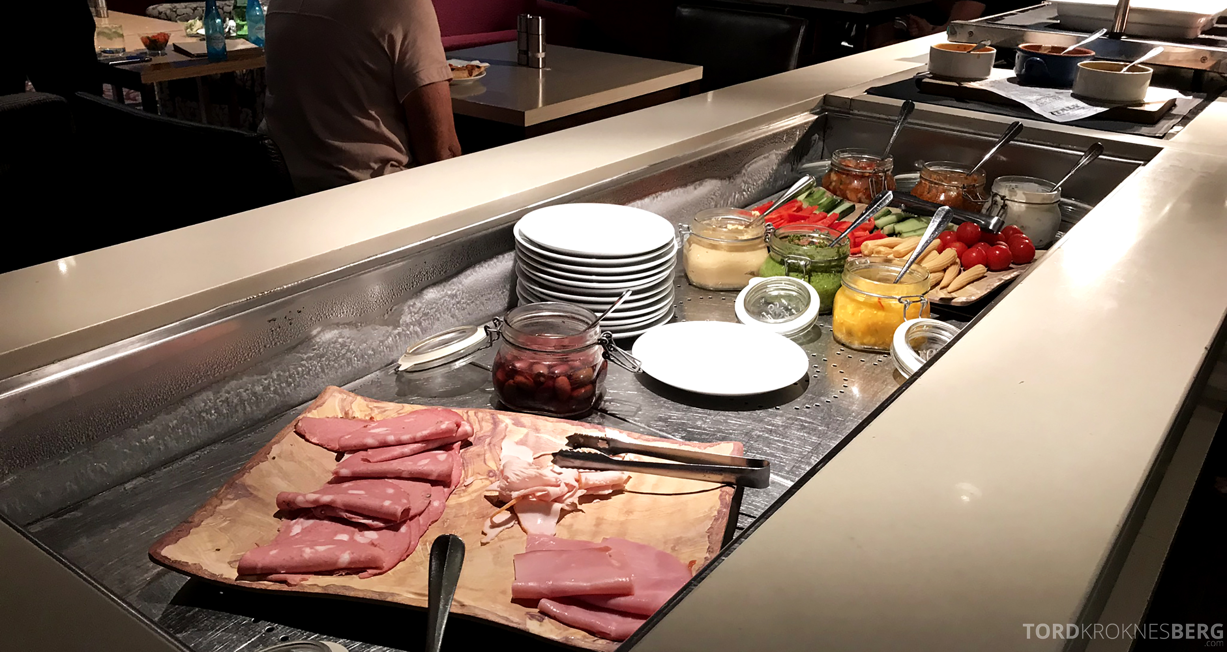 Sofitel Hotel Brisbane Club Lounge hors d'oeuvre