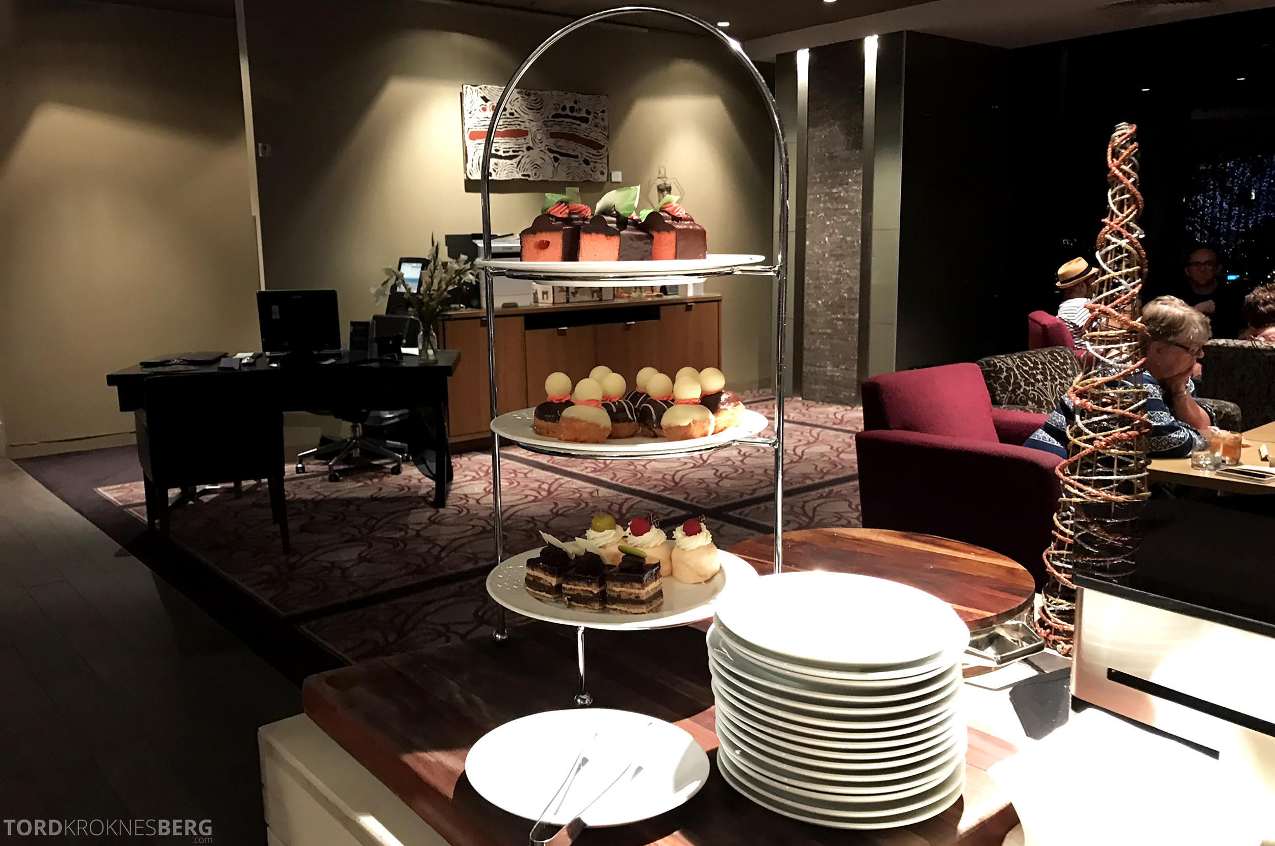 Sofitel Hotel Brisbane Club Lounge kaker
