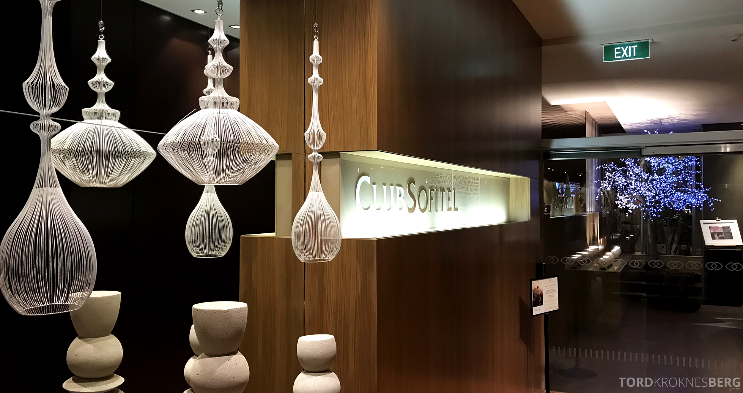 Sofitel Hotel Brisbane Club Lounge inngang