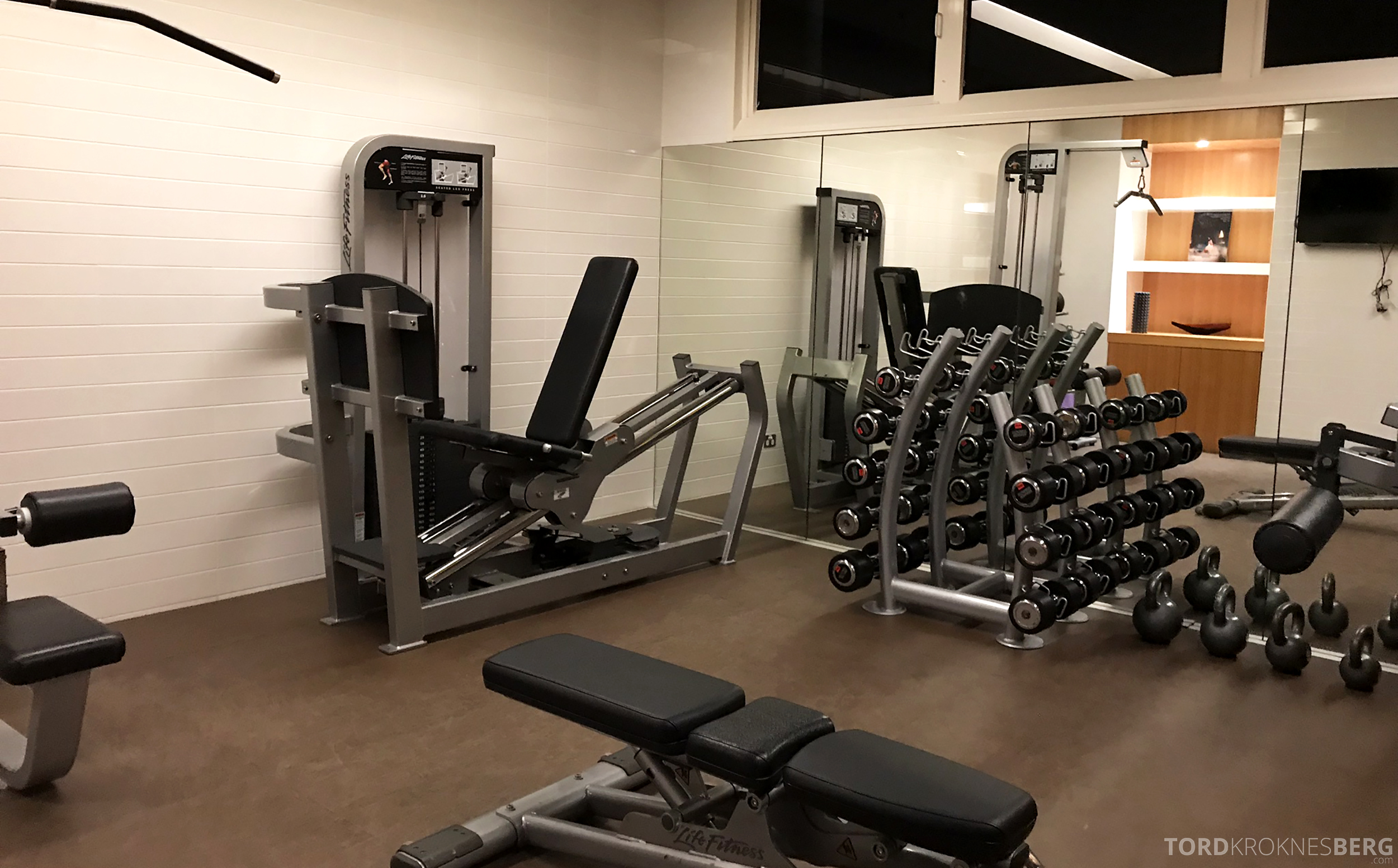 Sofitel Hotel Brisbane fitness apparater