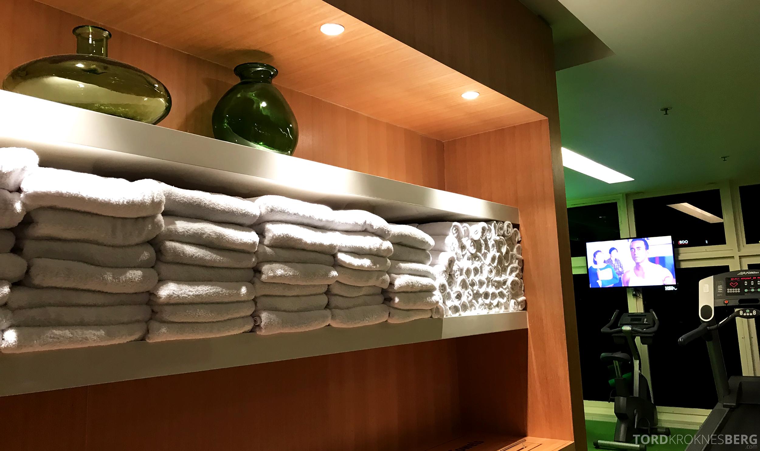 Sofitel Hotel Brisbane håndklær trimrom