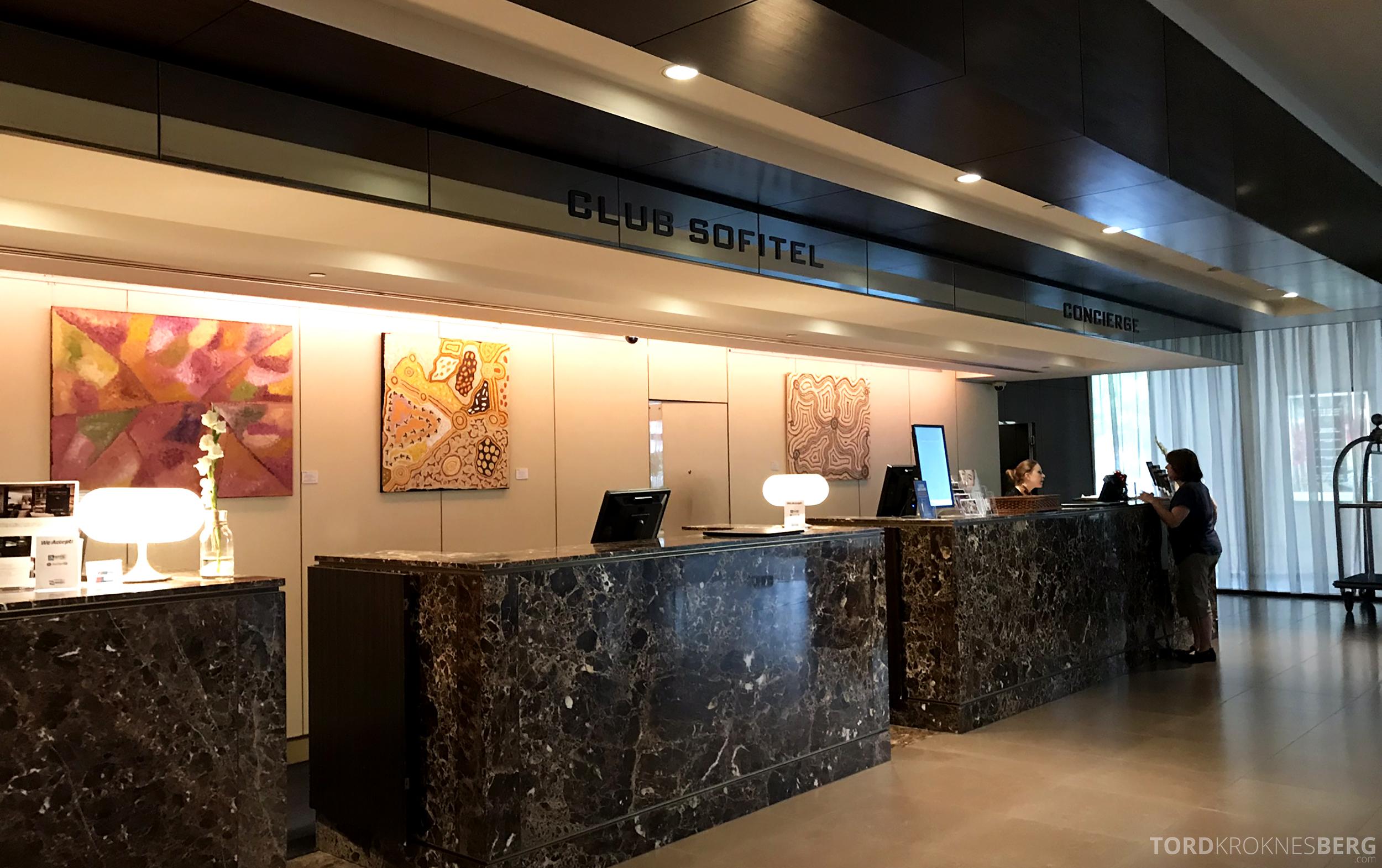 Sofitel Hotel Brisbane resepsjon