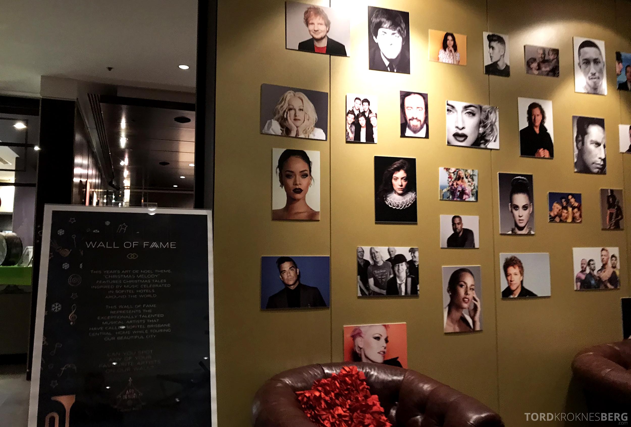 Sofitel Hotel Brisbane kjendiser