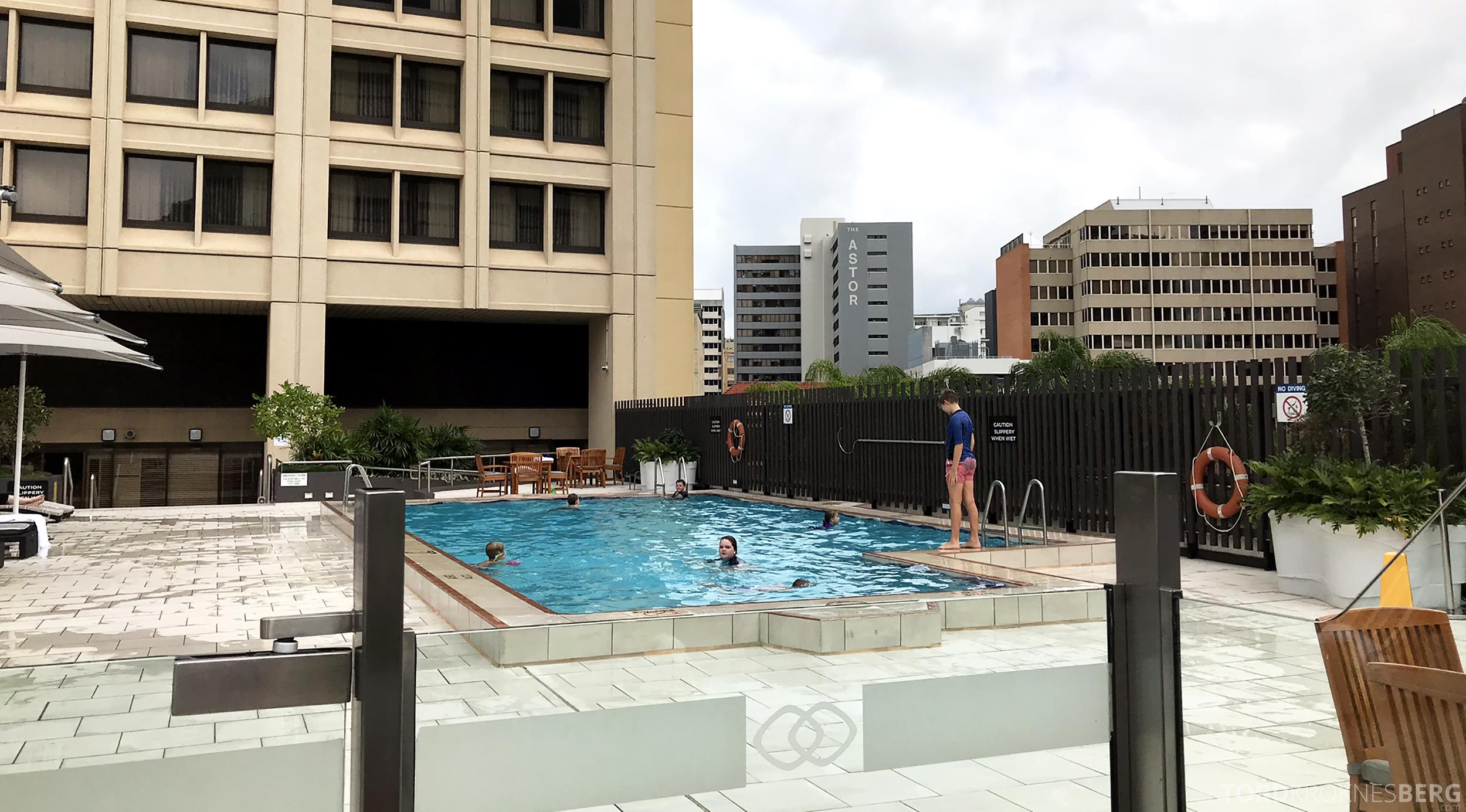 Sofitel Hotel Brisbane bassengområde