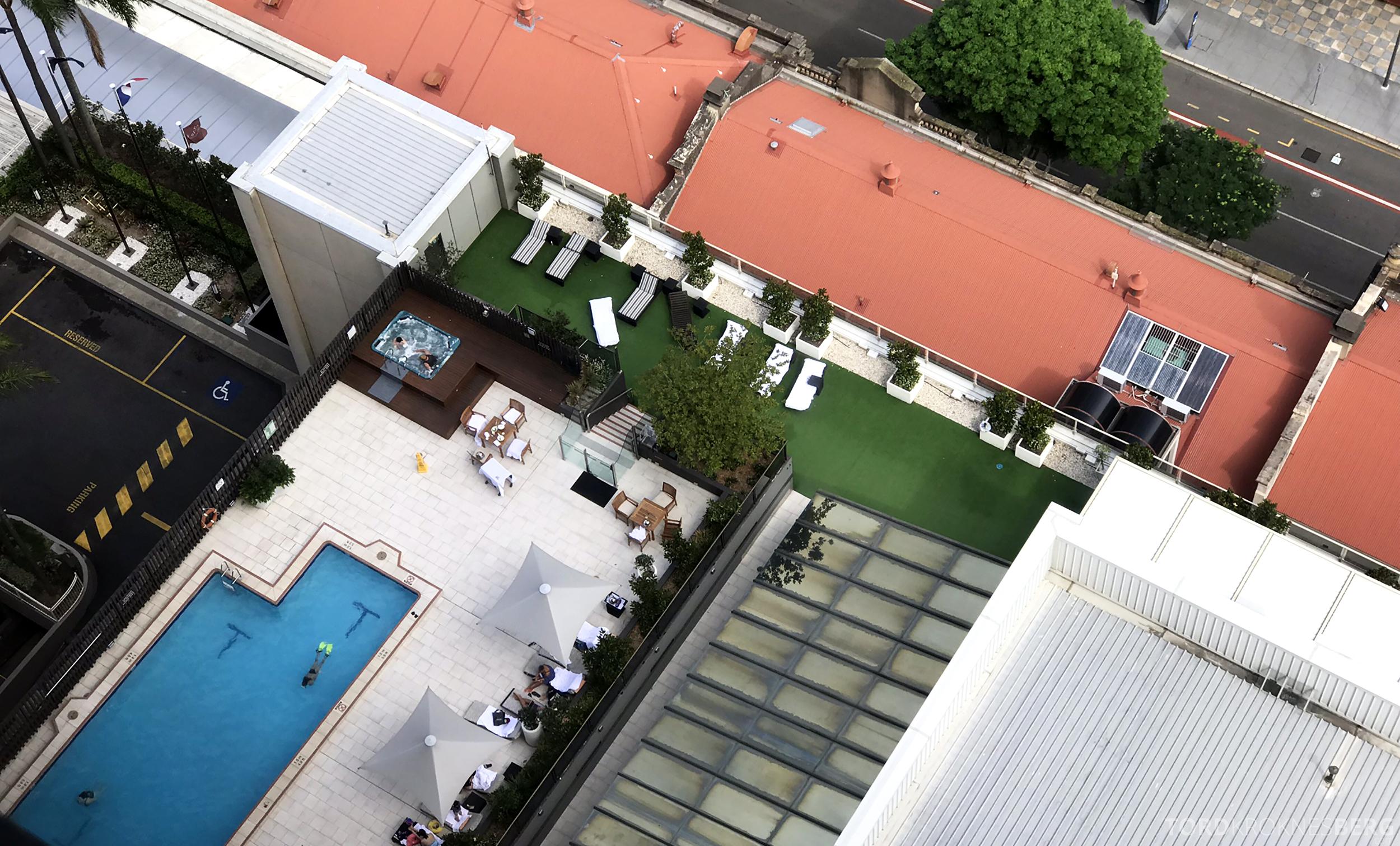 Sofitel Hotel Brisbane basseng