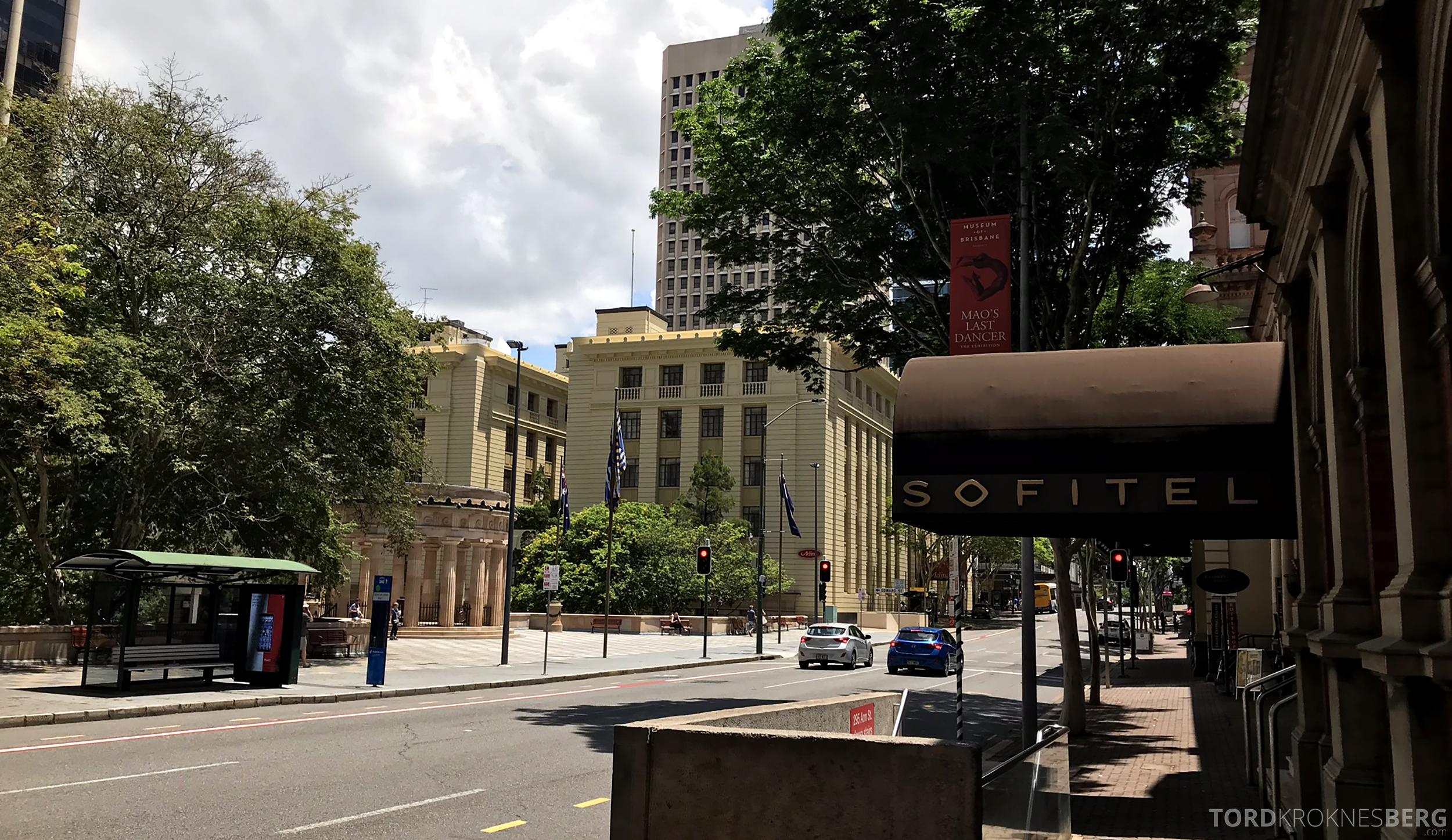 Sofitel Hotel Brisbane inngang gate
