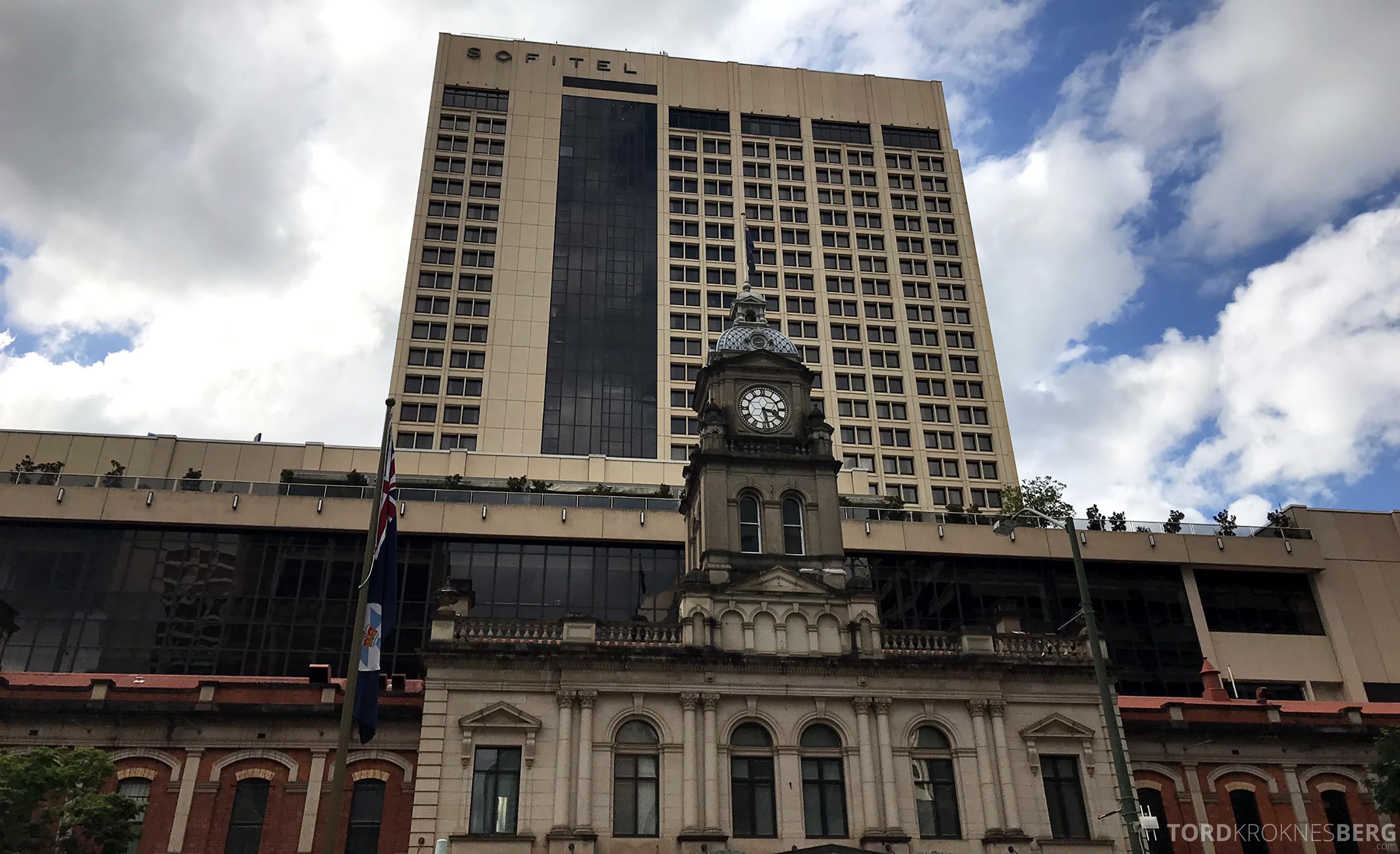 Sofitel Hotel Brisbane fasade