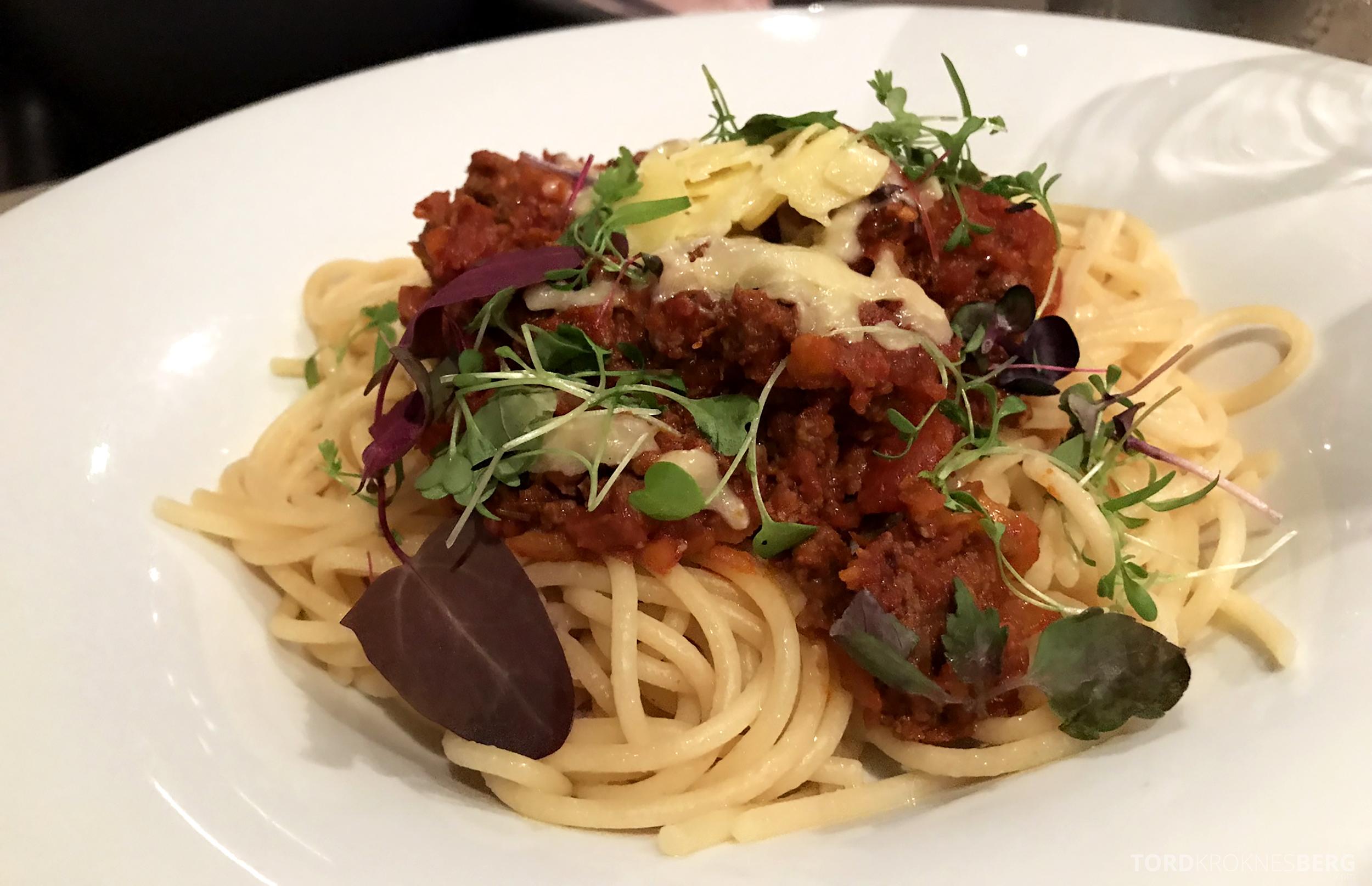 Sofitel Hotel Brisbane pasta room service