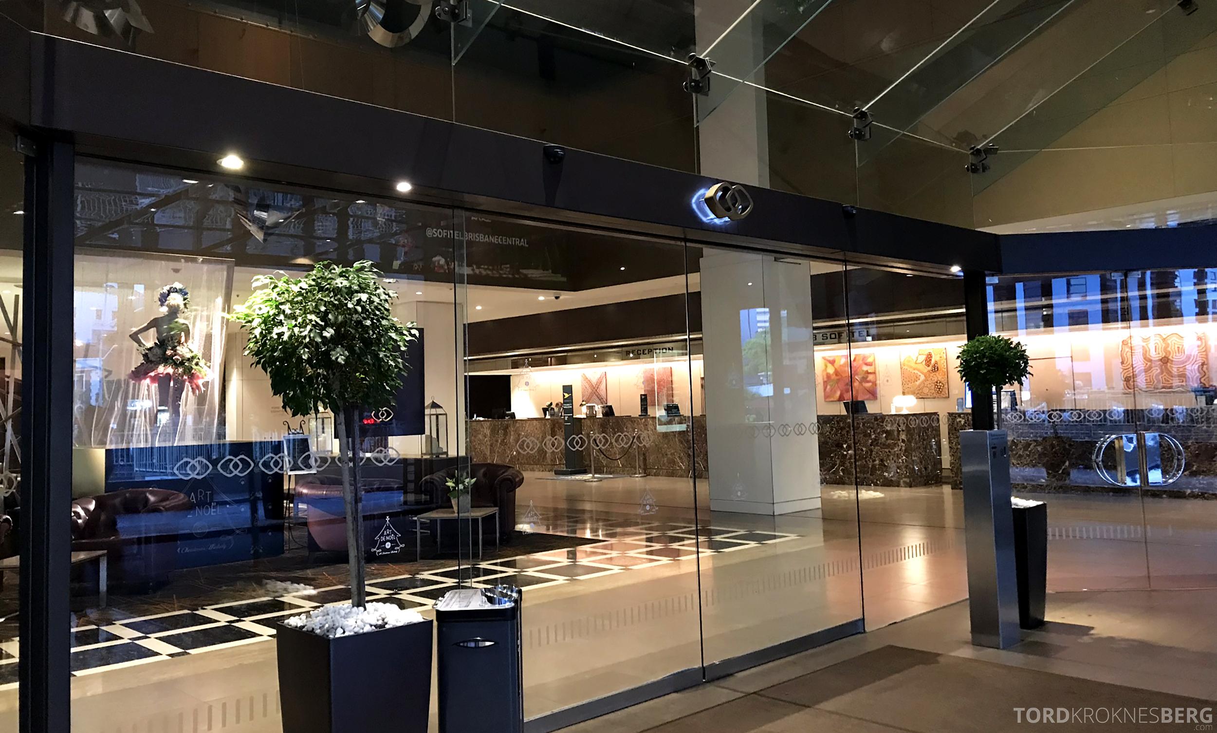 Sofitel Hotel Brisbane adjø