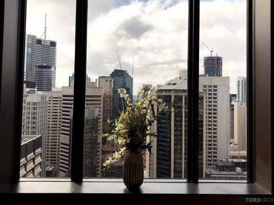 Sofitel Hotel Brisbane utsikt