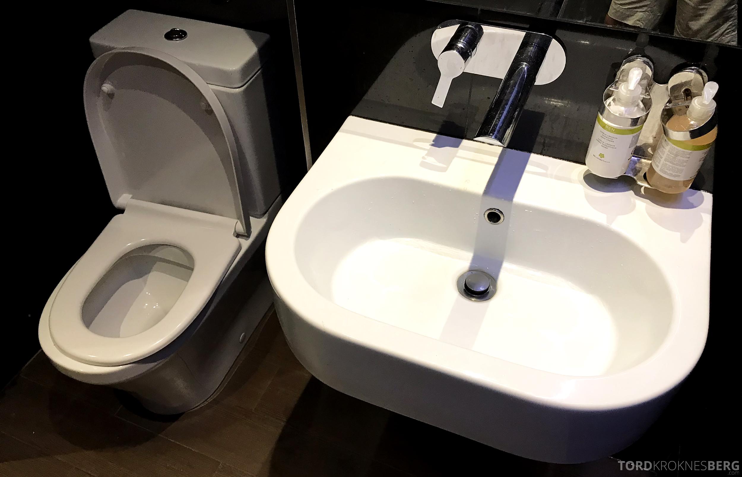 Virgin Australia Lounge Sydney toalett