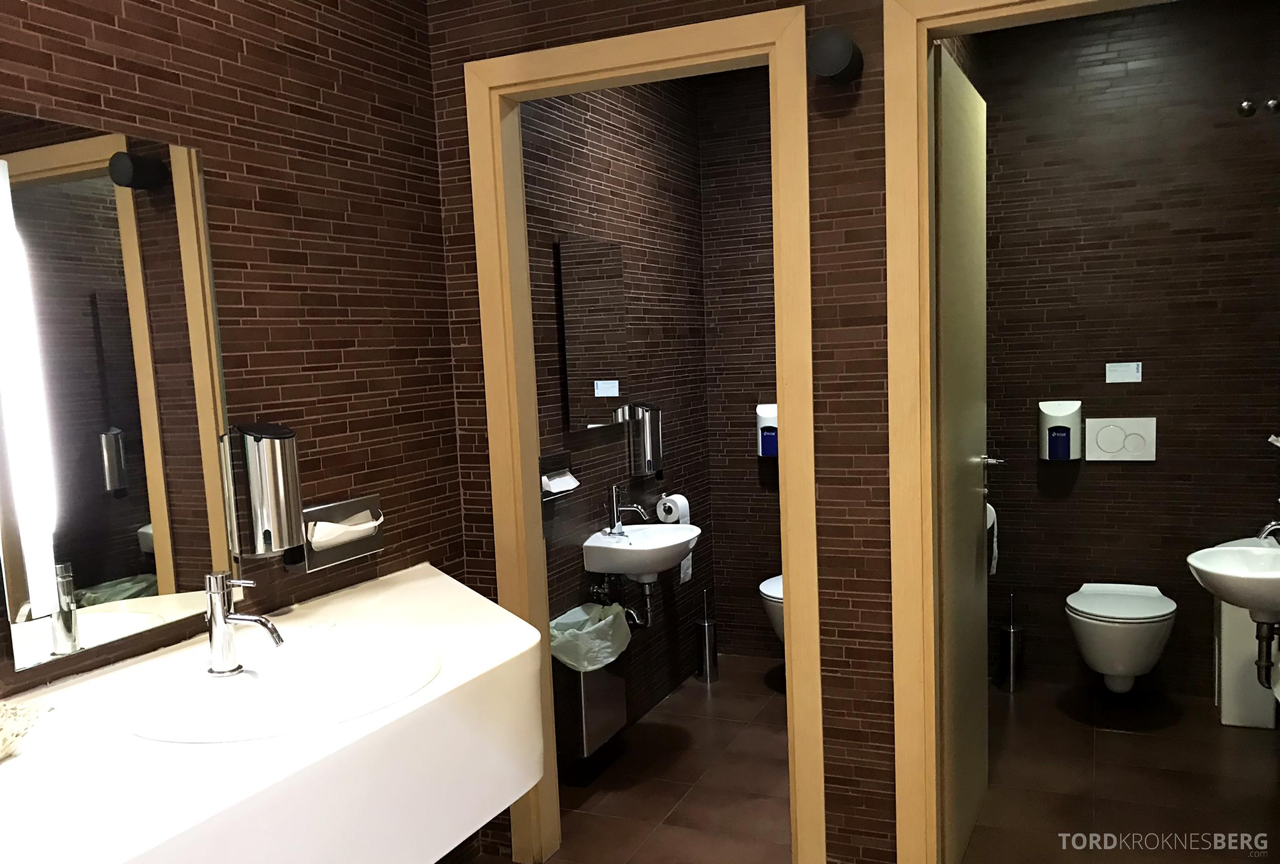Alitalia Lounge Roma toalett