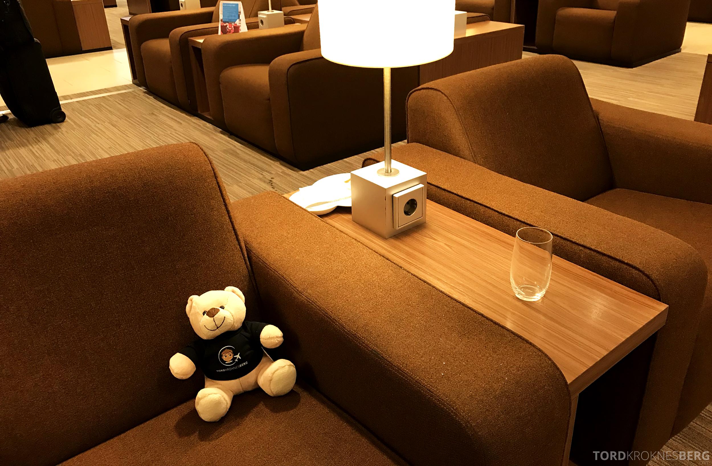 KLM Crown Lounge Schiphol Amsterdam reisefølget