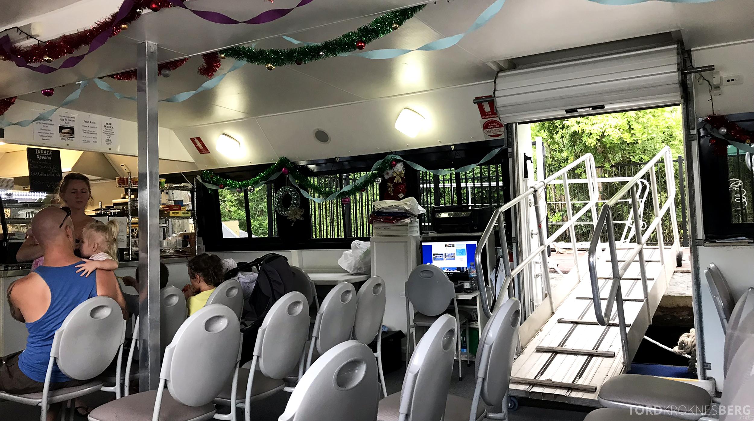 Lone Pine Koala Sanctuary Cruise interiør
