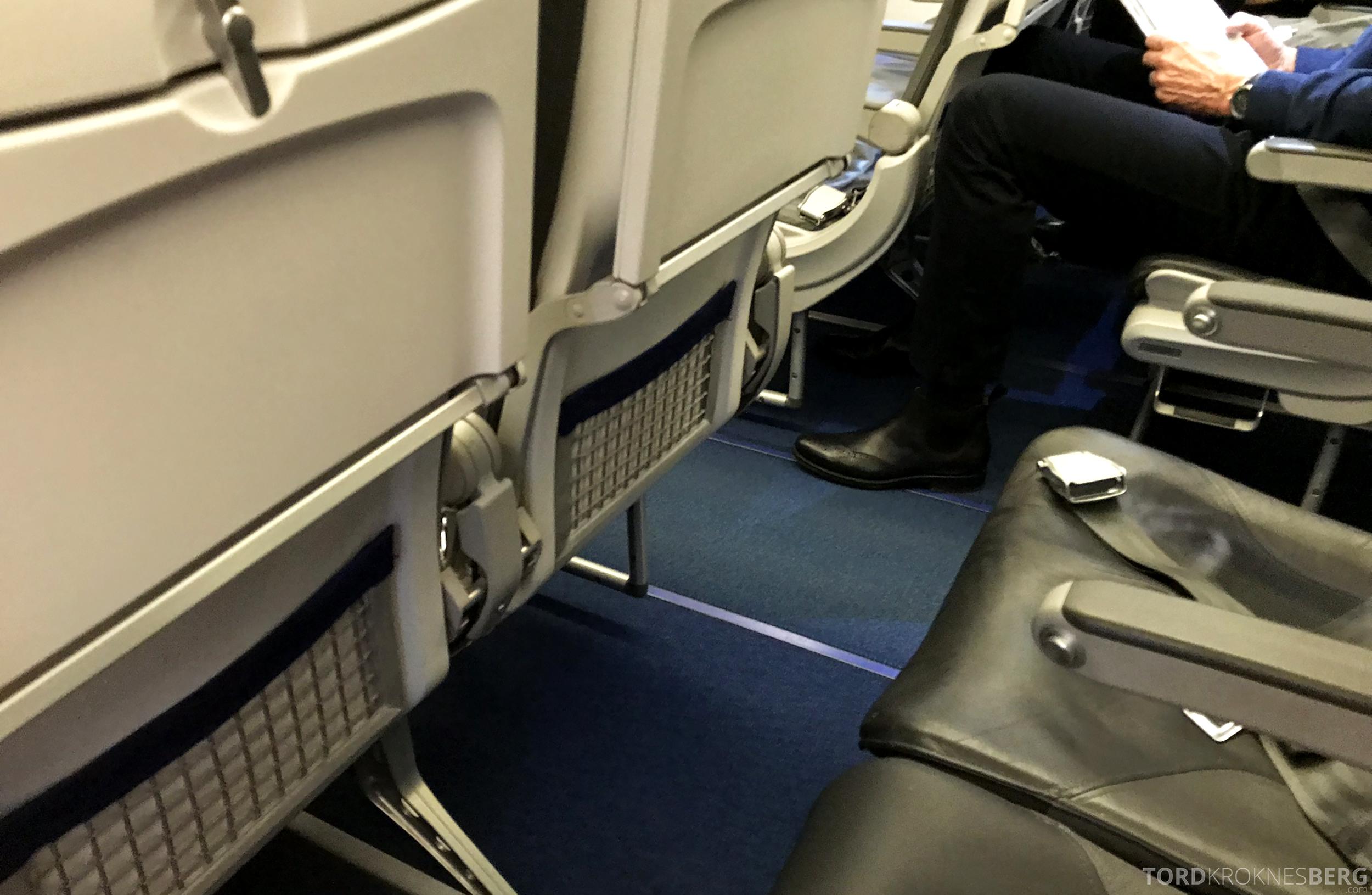 Lufthansa Business Class Oslo Rome rad