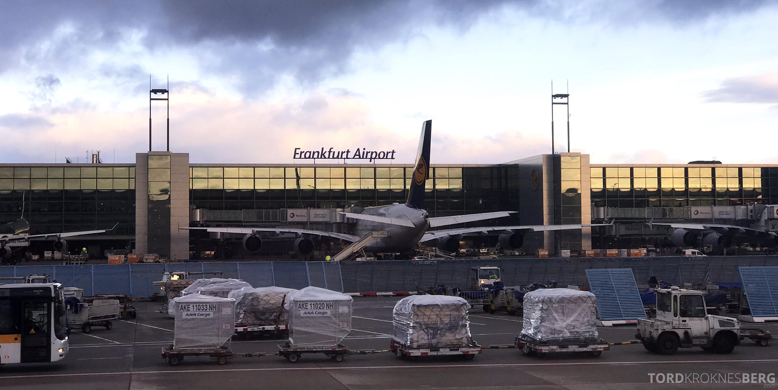 Lufthansa Business Class Rome Frankfurt Oslo Frankfurt