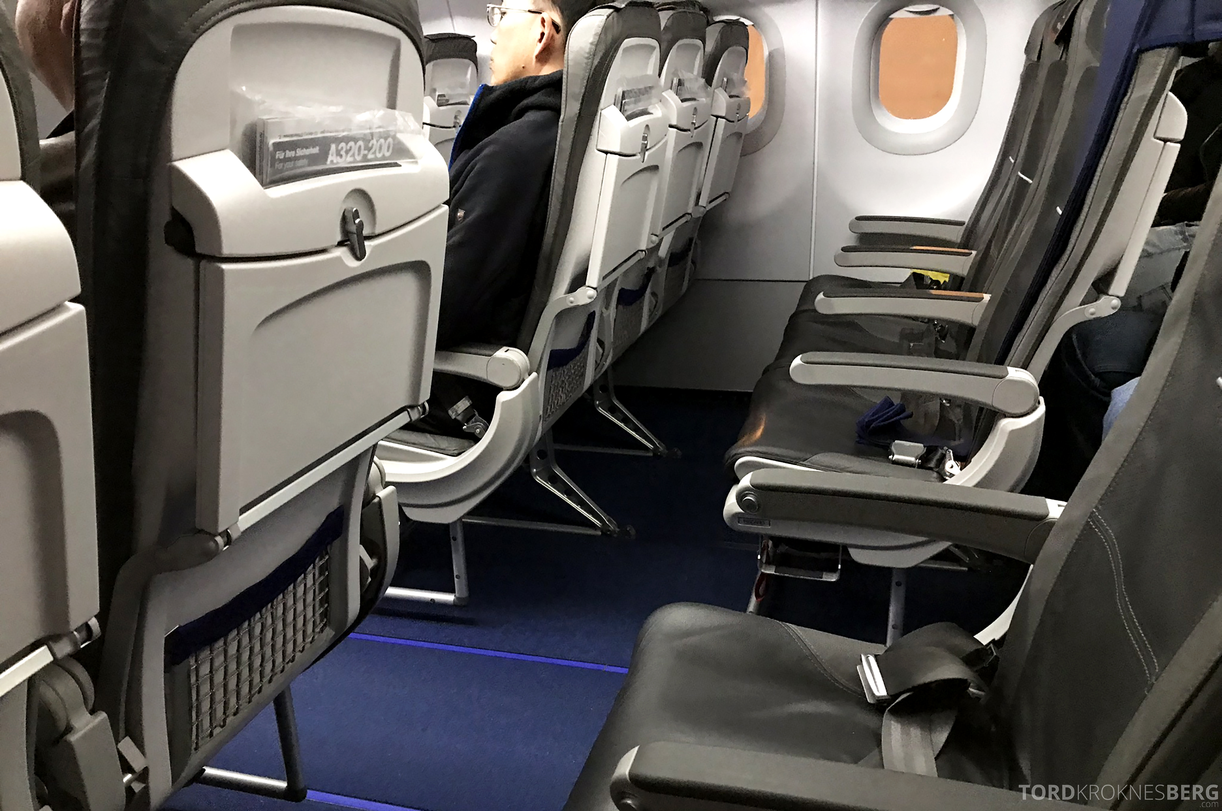 Lufthansa Business Class Rome Frankfurt Oslo rad