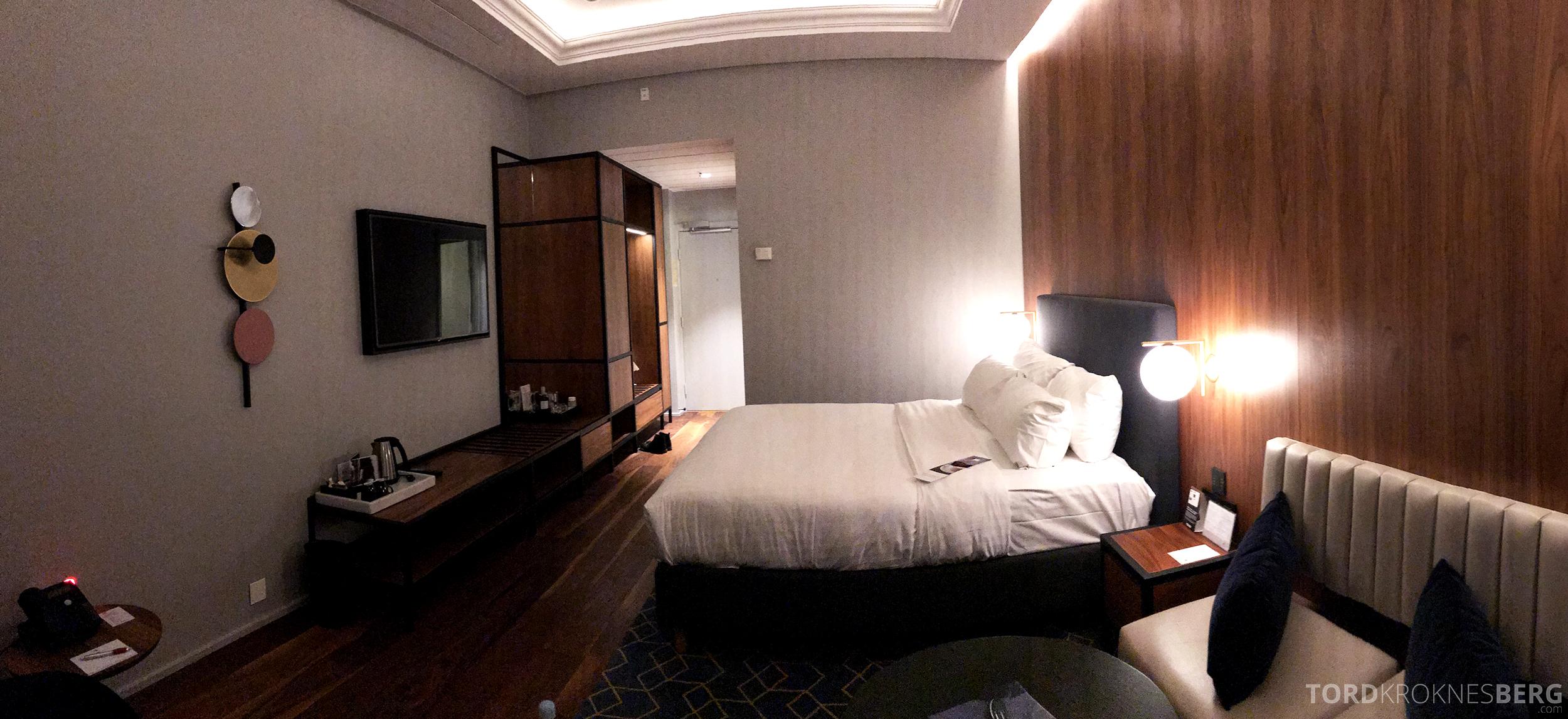 Marriott Copenhagen Hotel panorama seng