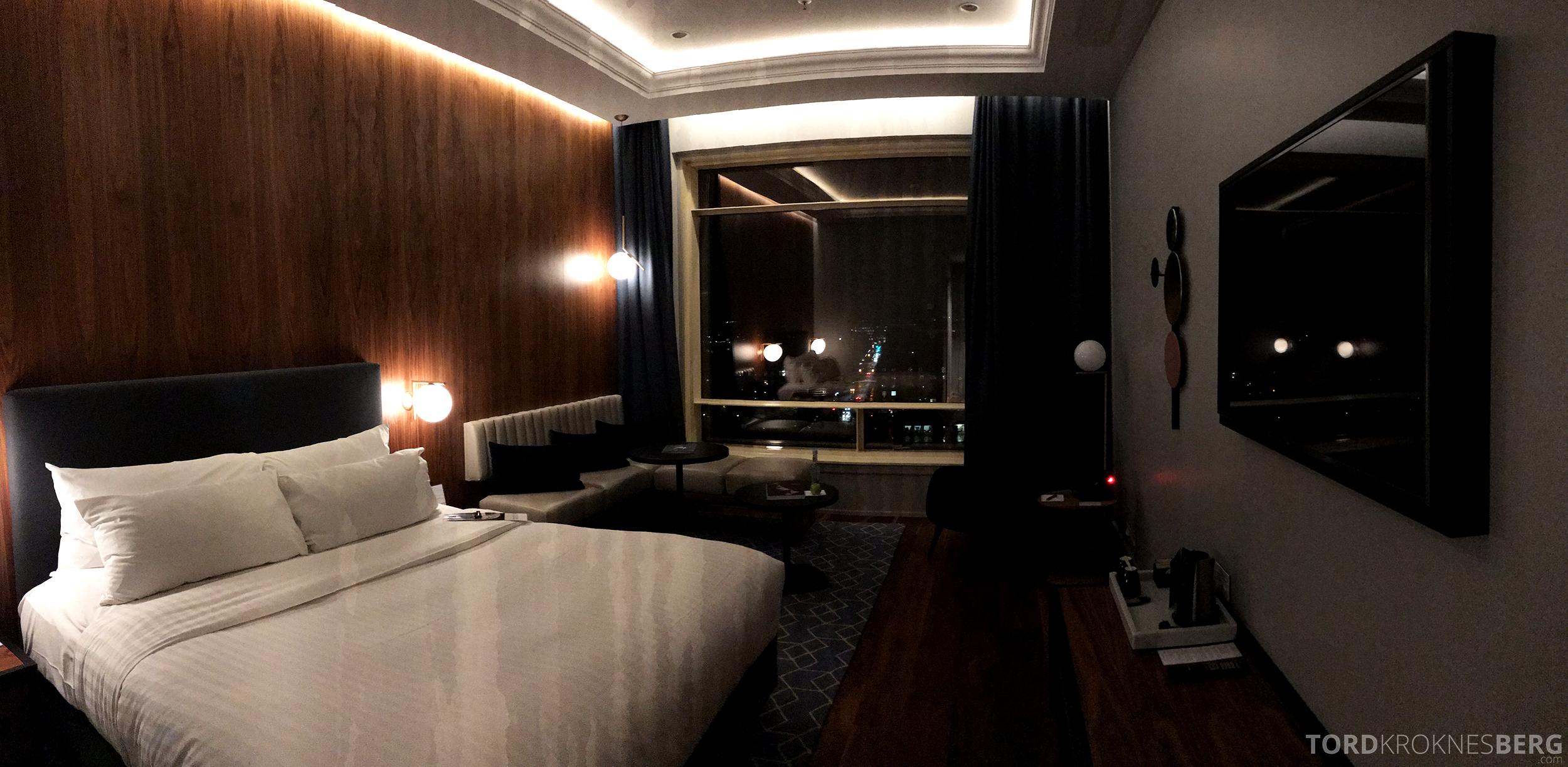Marriott Copenhagen Hotel panorama utsikt