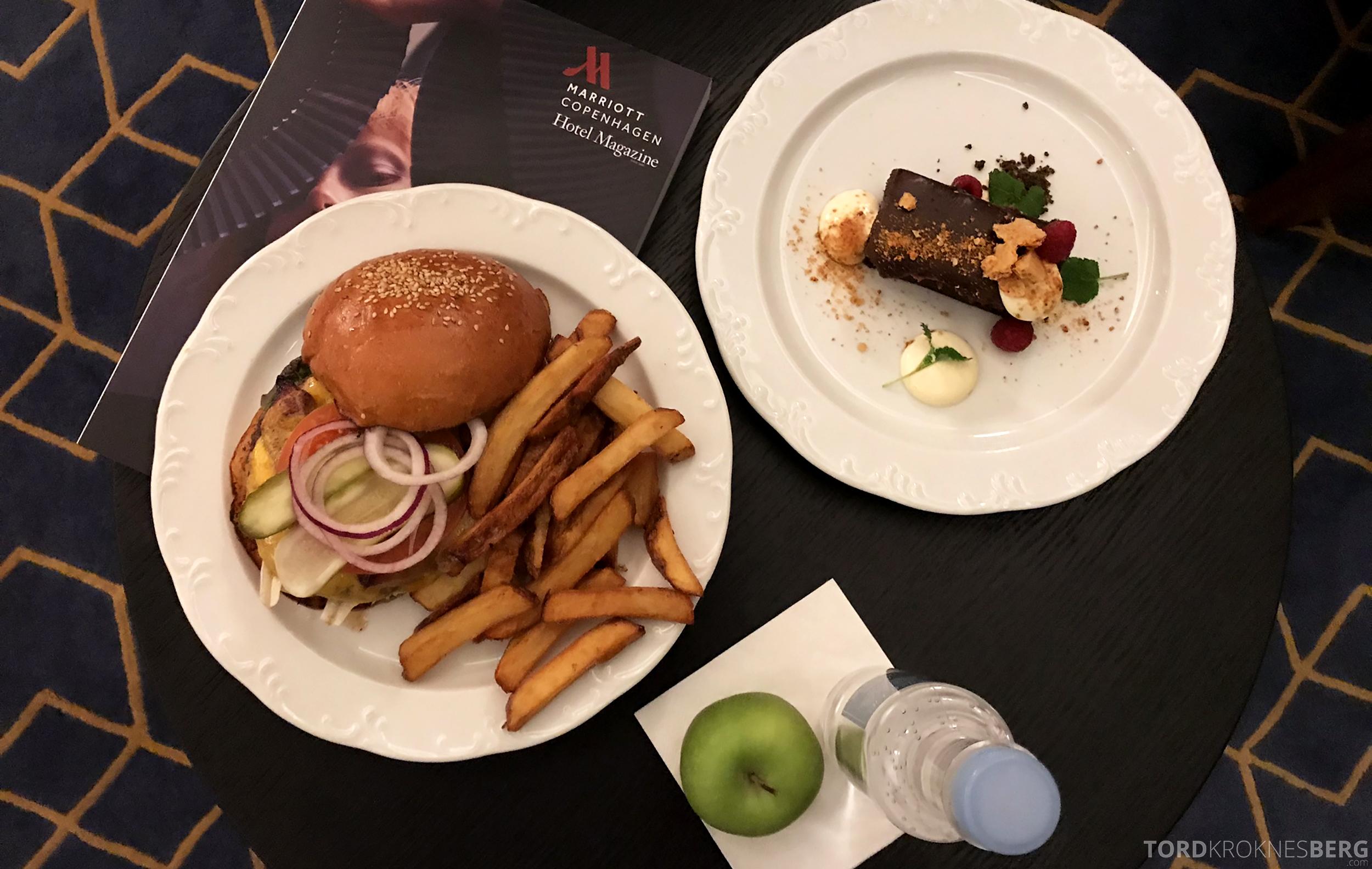Marriott Copenhagen Hotel room service