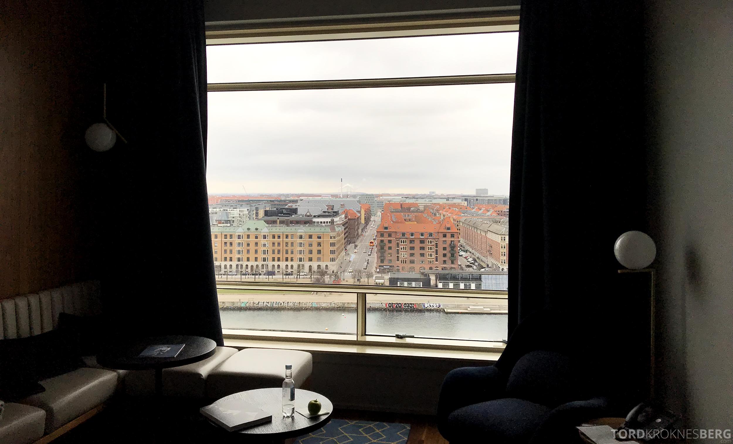 Marriott Copenhagen Hotel utsikt