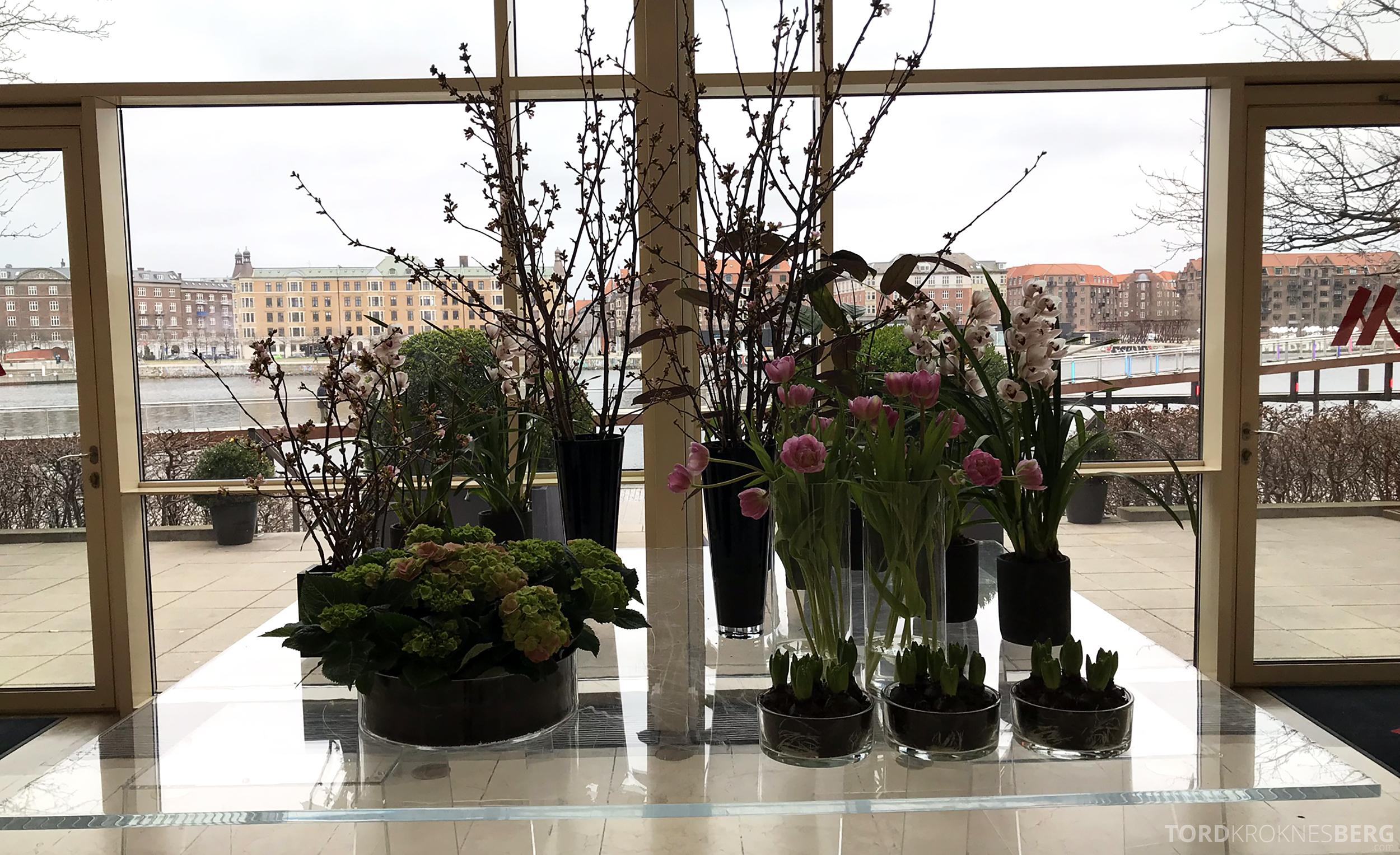 Marriott Copenhagen Hotel lobby