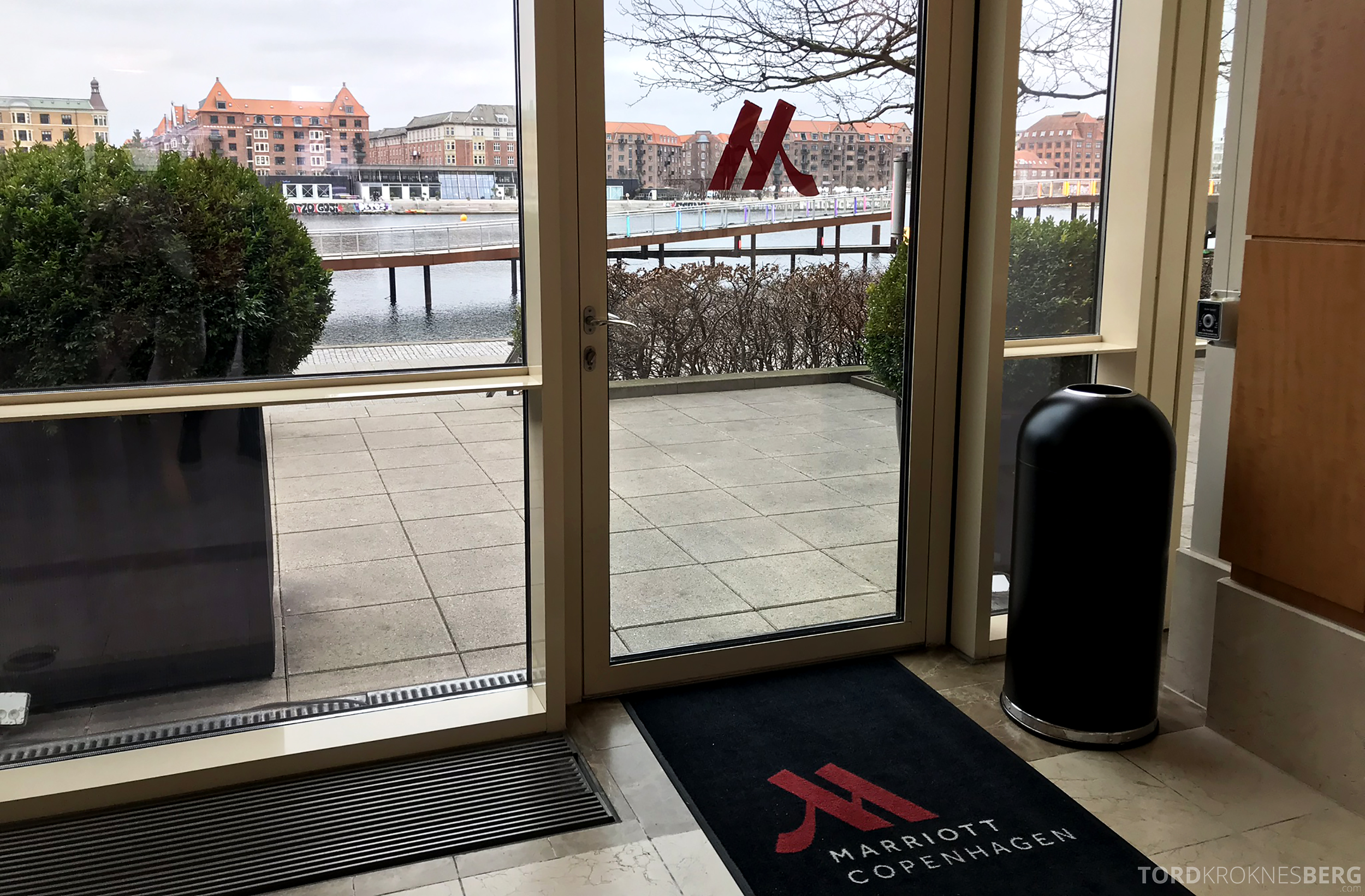 Marriott Copenhagen Hotel utgang
